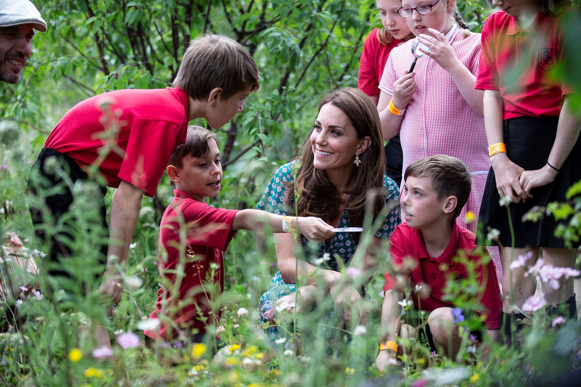 Hace algunas semanas Kate Middletonestrenó su proyecto Back to Nature, el jardín urbano que diseñó junto al arquitecto Davies White