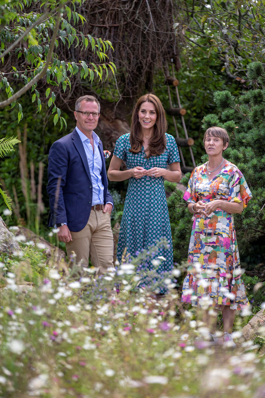 Kate confesó que sus hijos mayores -los príncipes George y Charlotte- la ayudaron a organizar el reto