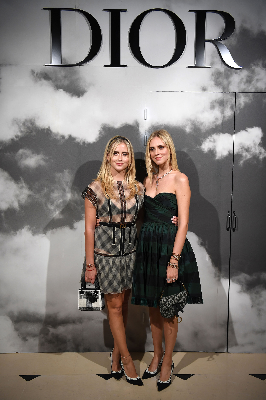 Valentina Ferragni junto a su hermana Chiara Ferragni