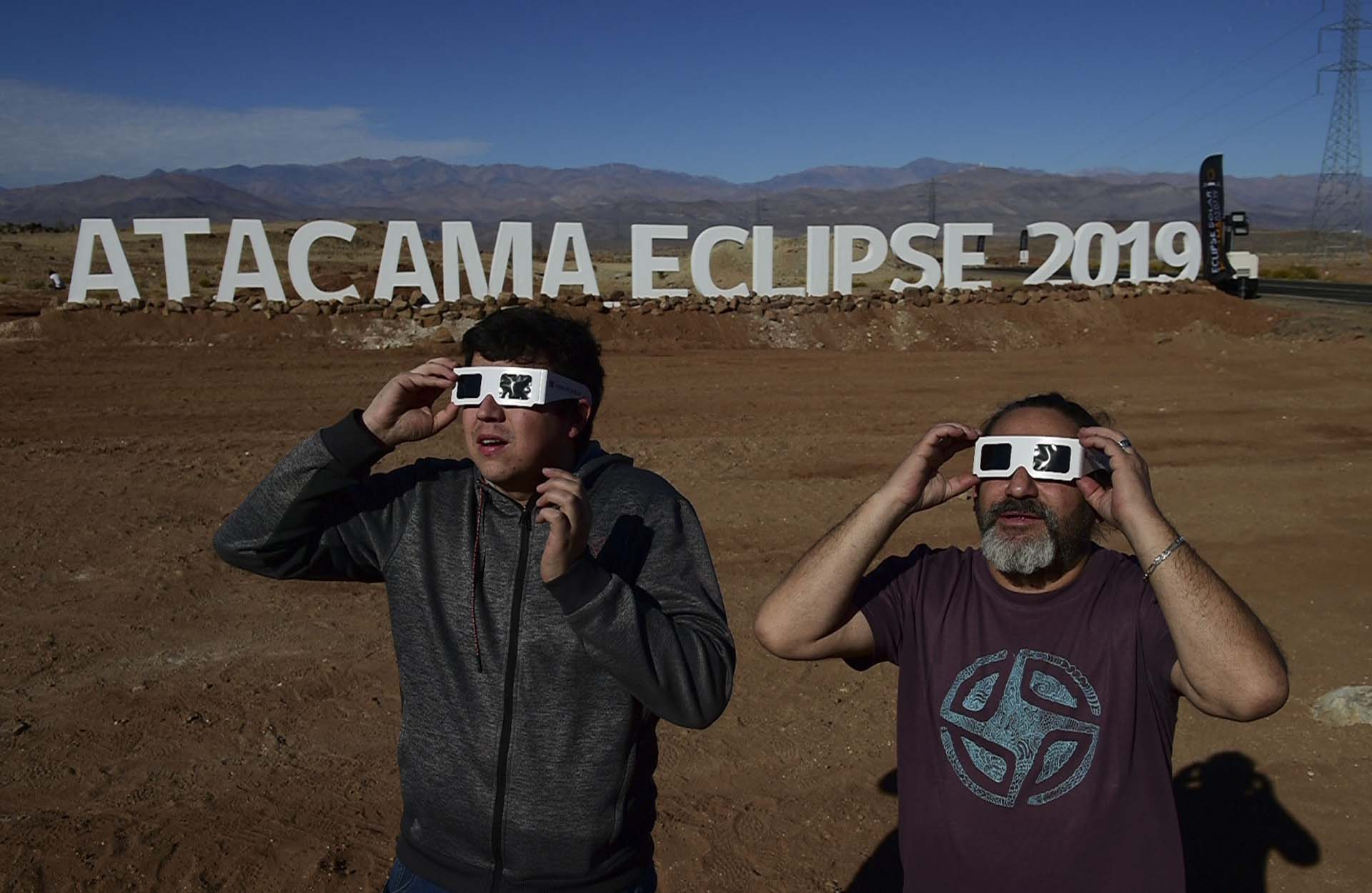 Vallenar, en el desierto de Atacama (Photo by MARTIN BERNETTI / AFP)