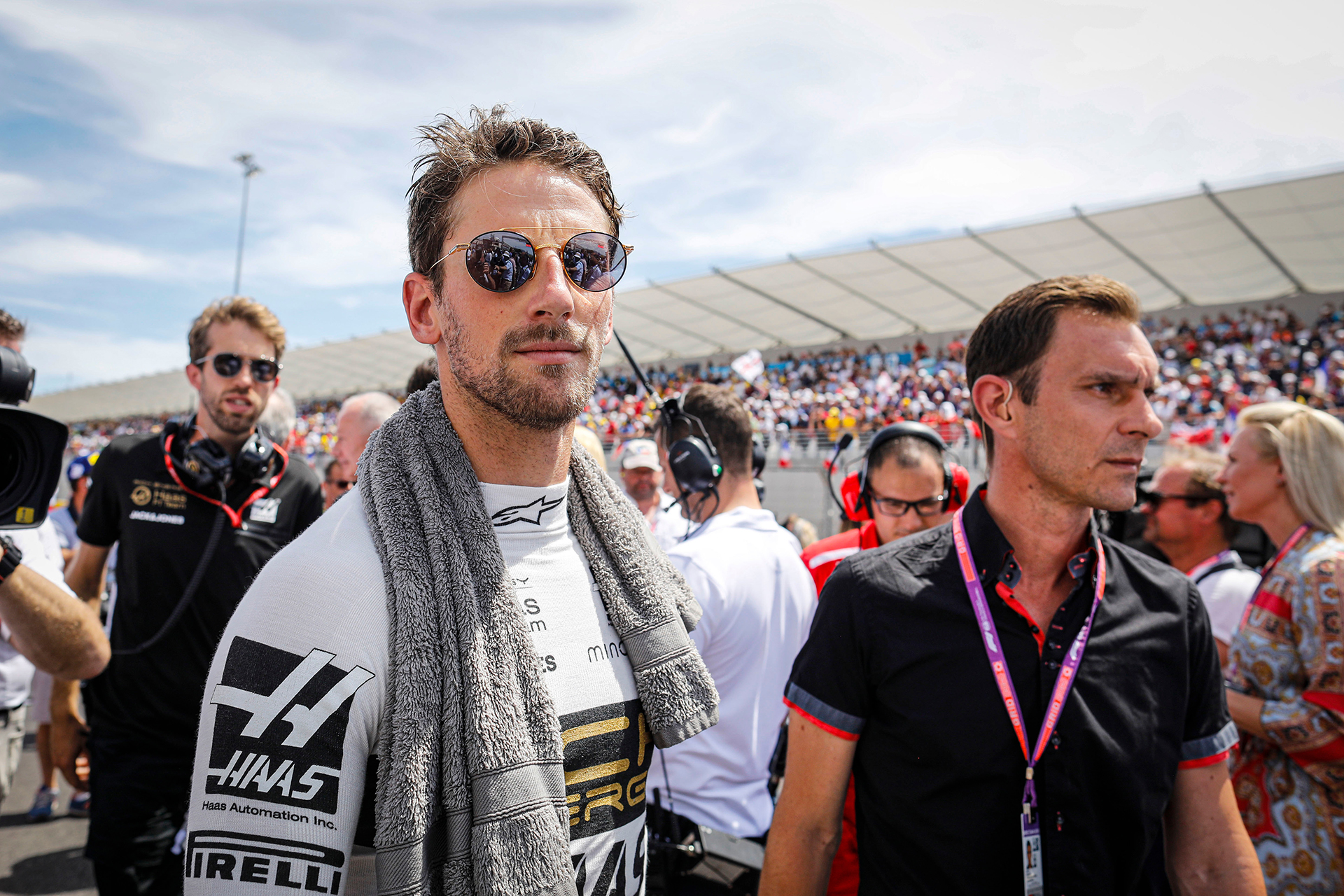 Romain Grosjean (Rich Energy Haas), USD 2,255 millones