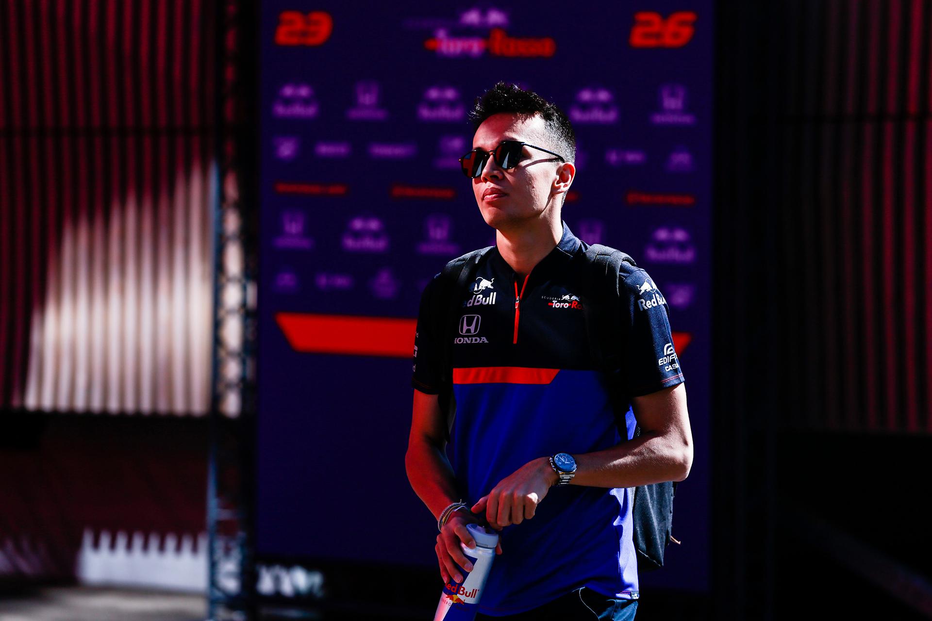 Alexander Albon (Toro Rosso Honda), USD 845.000