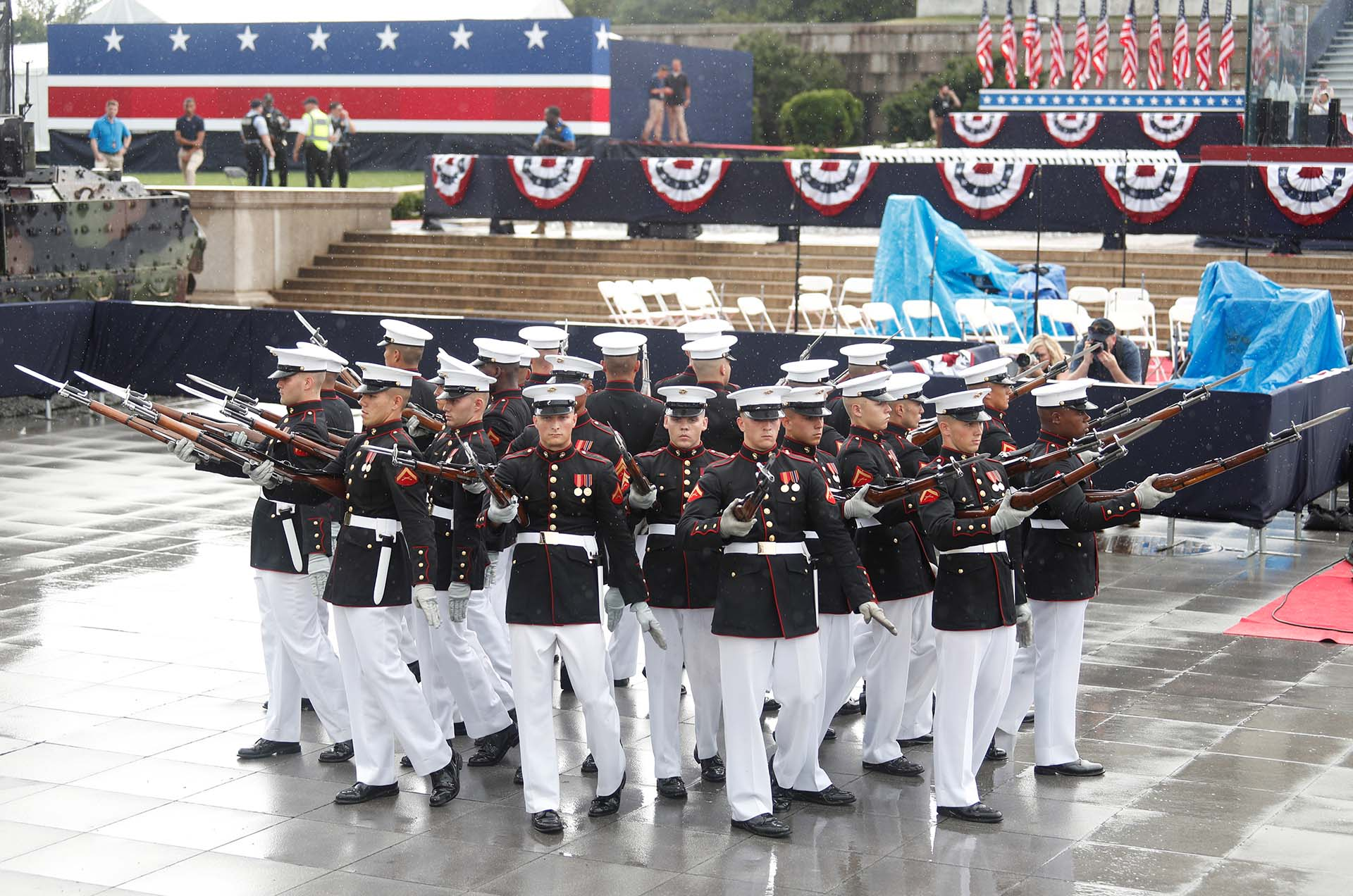 El Pelotón de Simulacros Silenciosos del Cuerpo de Marines de los EEUU