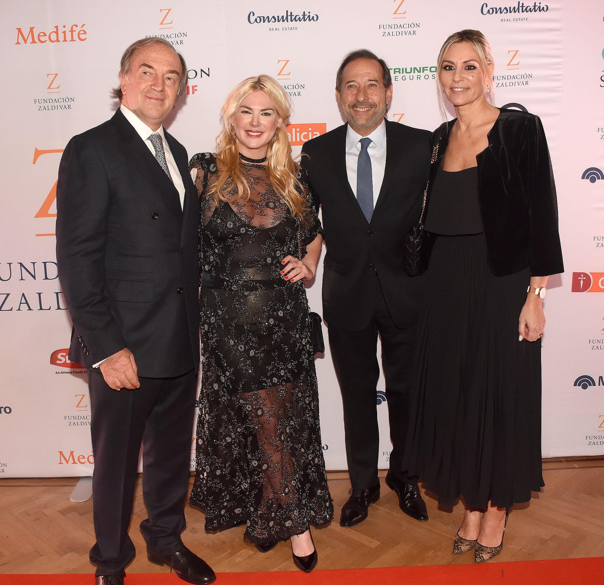 El doctor Zaldivar, Esmeralda Mitre, Guillermo Francella y su muje