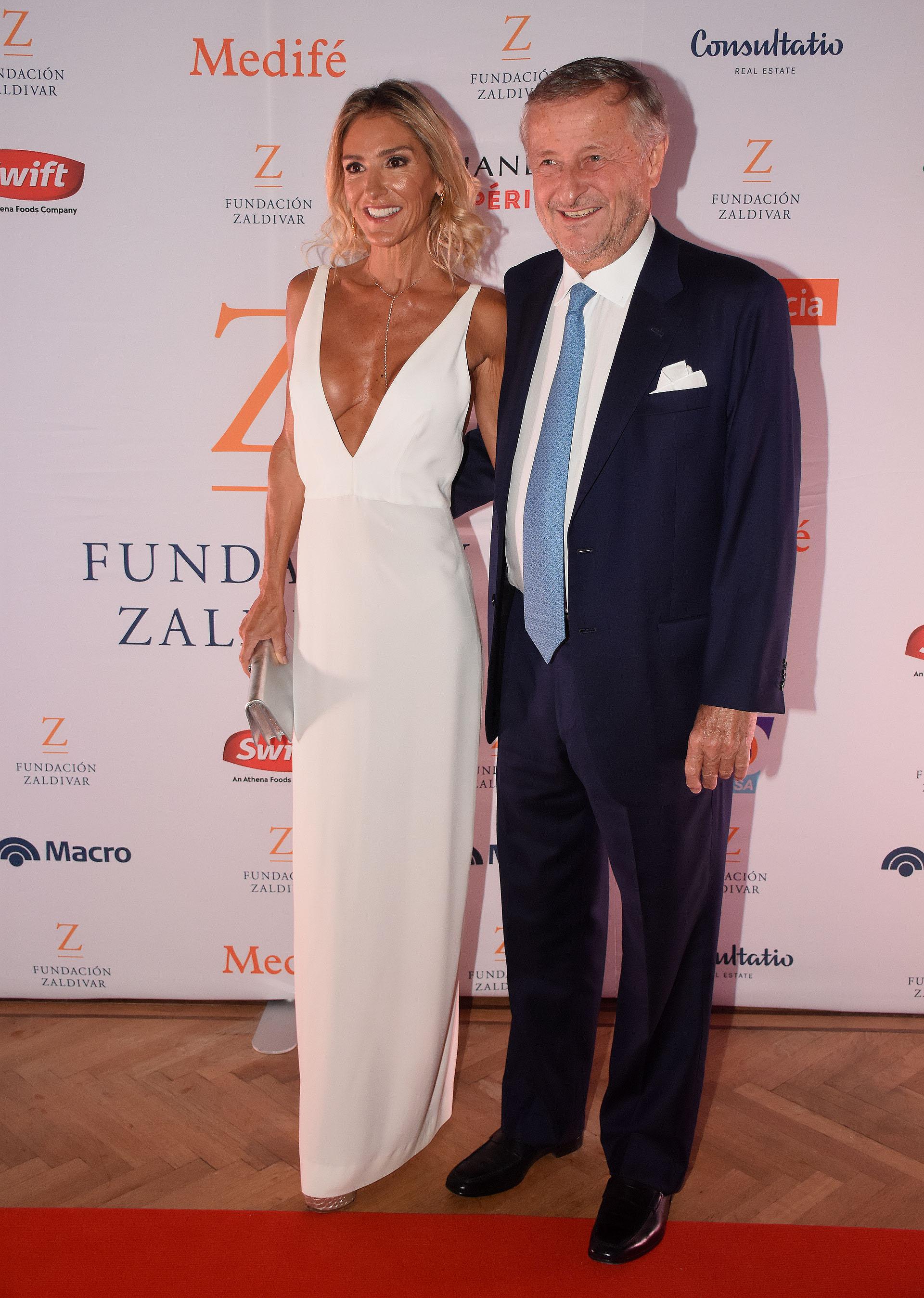 Gabriela Castellani y Cristiano Rattazzi, presidente de Fiat Argentina
