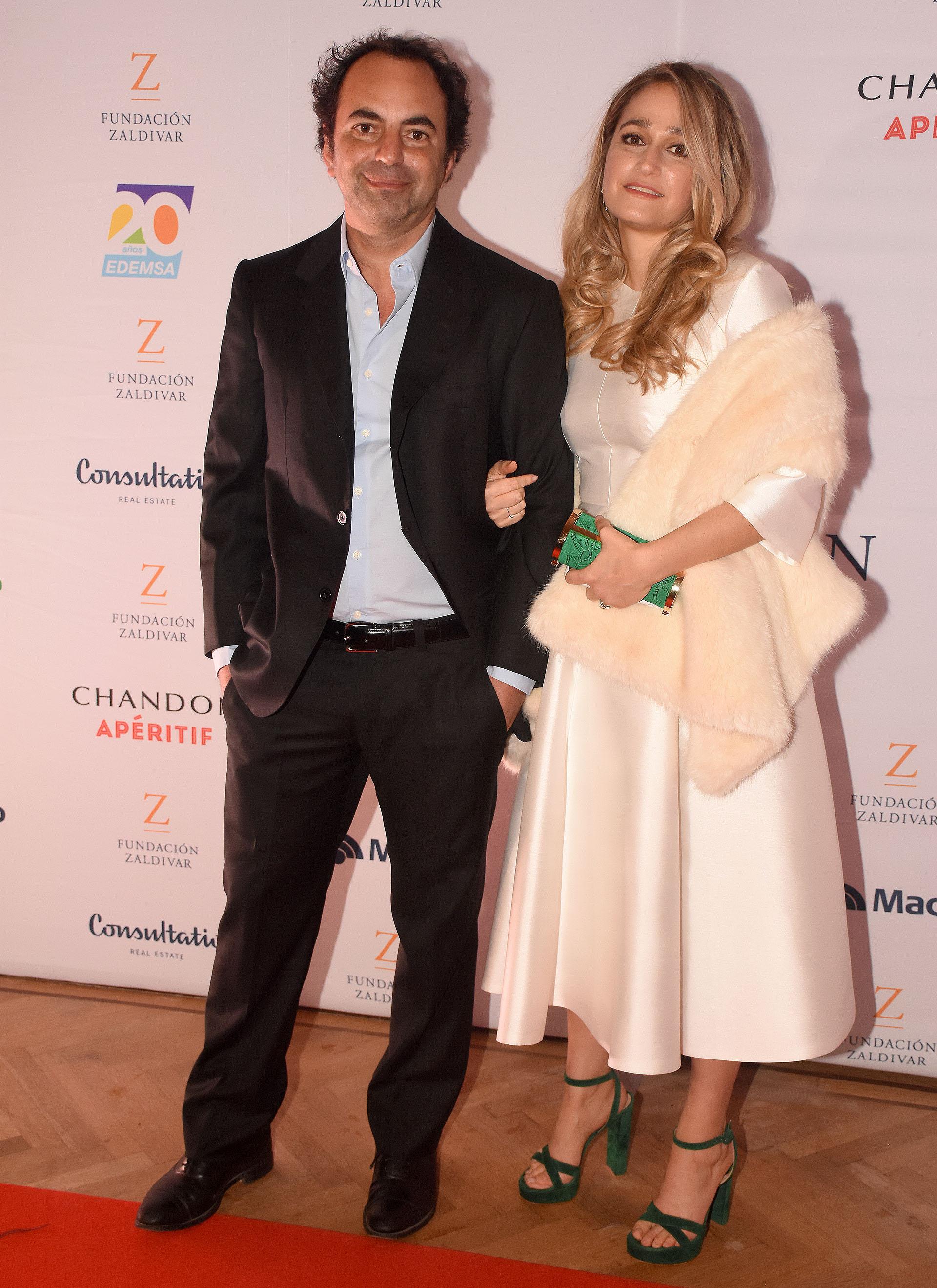 Patricio Fuks, CEO de WeWork para Latinoamérica, y su mujer Carolina