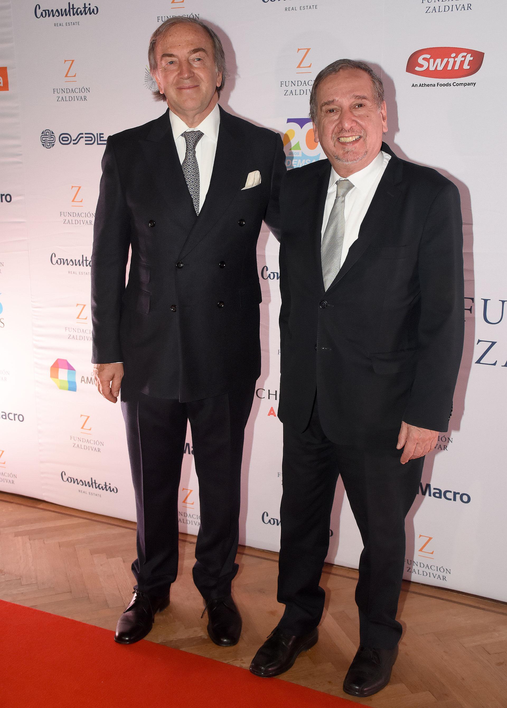 Roberto Zaldivar recibió a el ministro de Ciencia y Tecnología, Lino Barañao
