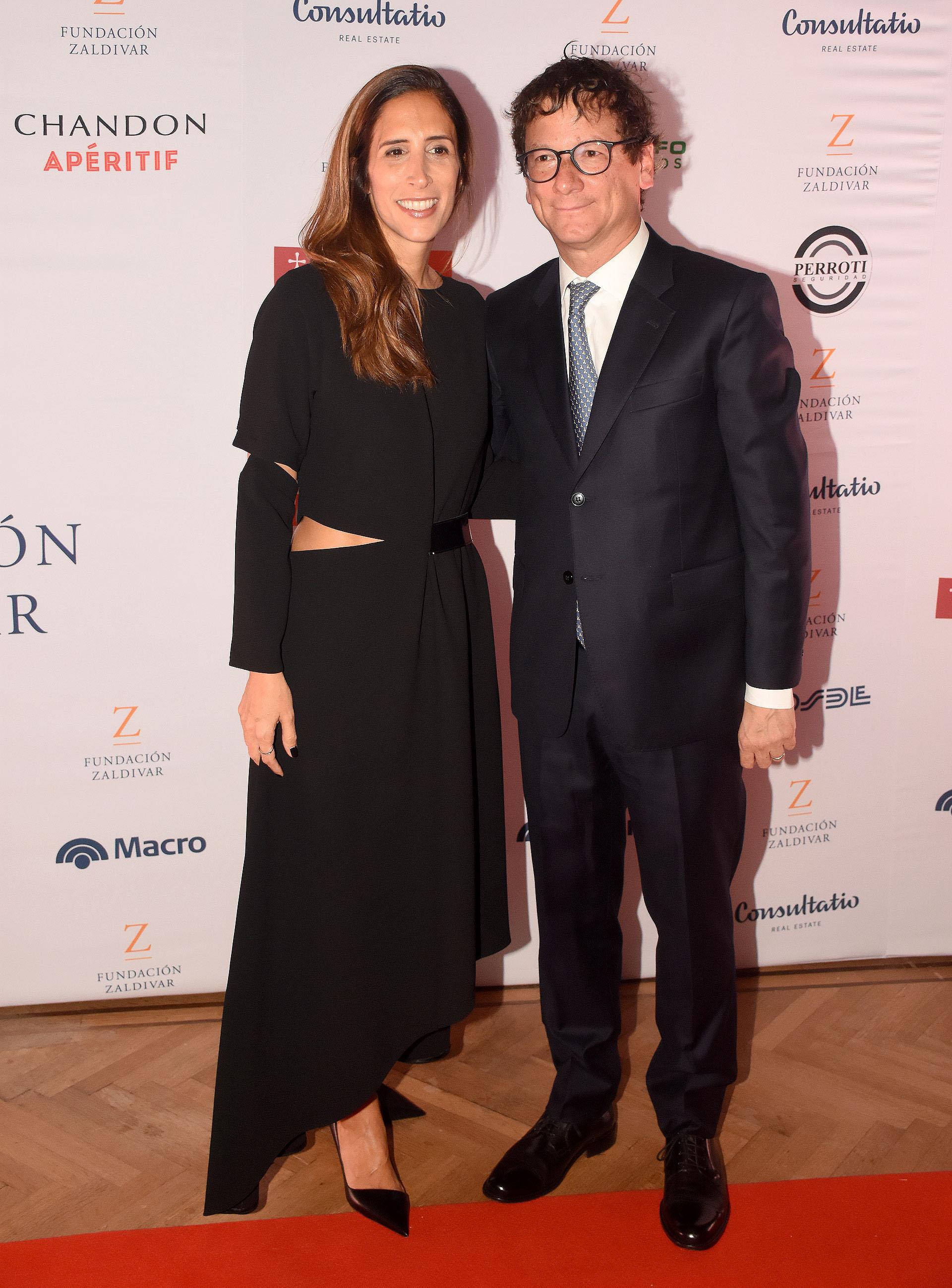 Gabriel Martino, presidente de HSBC Argentina, su mujer Florencia Perotti