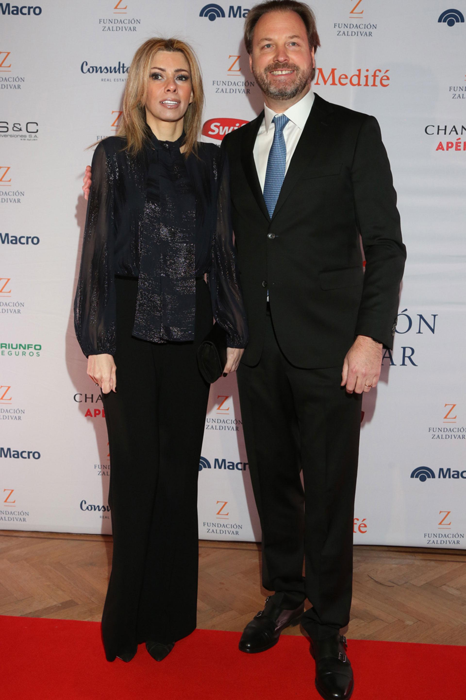 Michael Halstrick, Presidente y CEO de Bodega Norton, junto a Susana Monzó.
