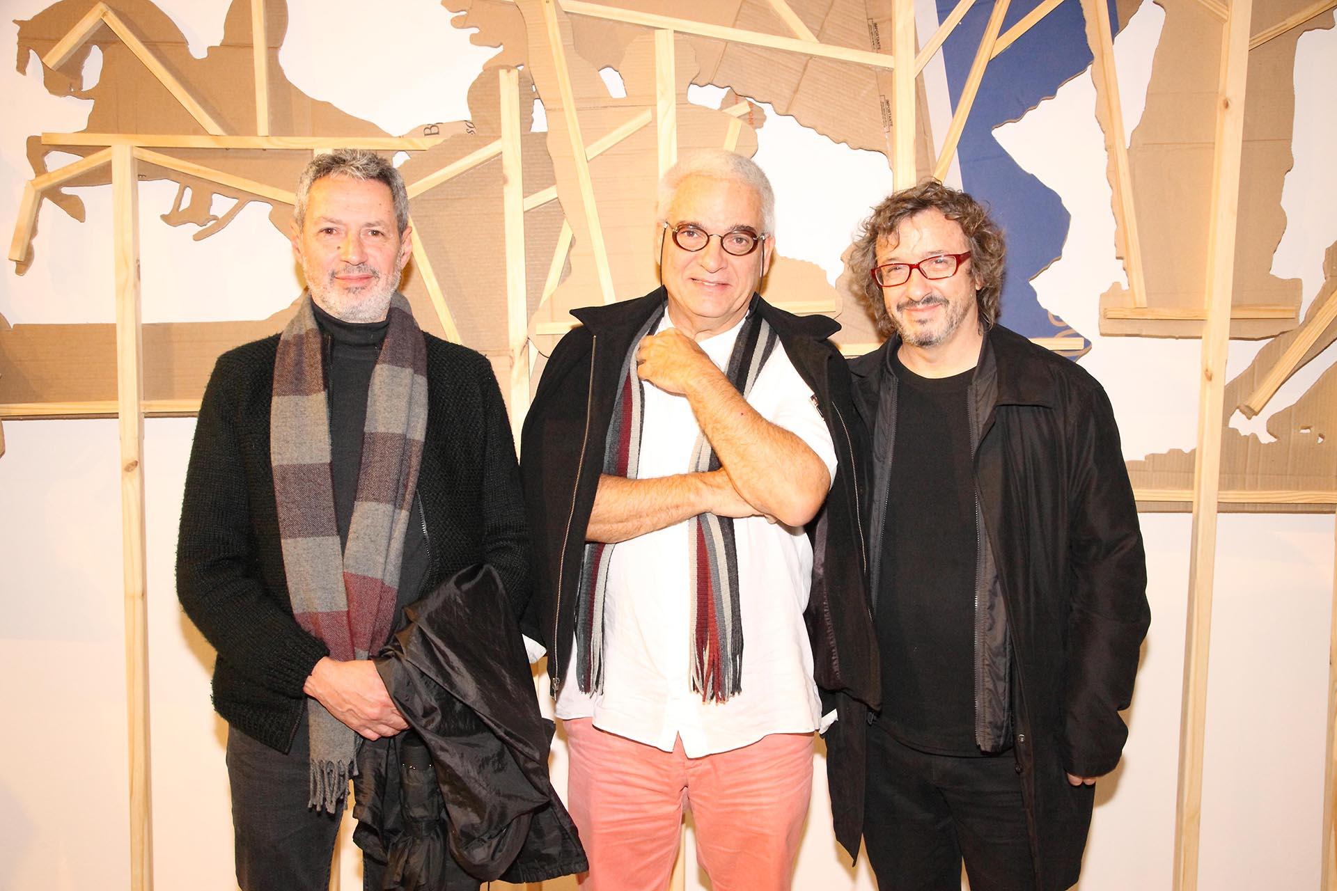 Esteban Alvarez, Marcelo Massagao y Fernando Farina