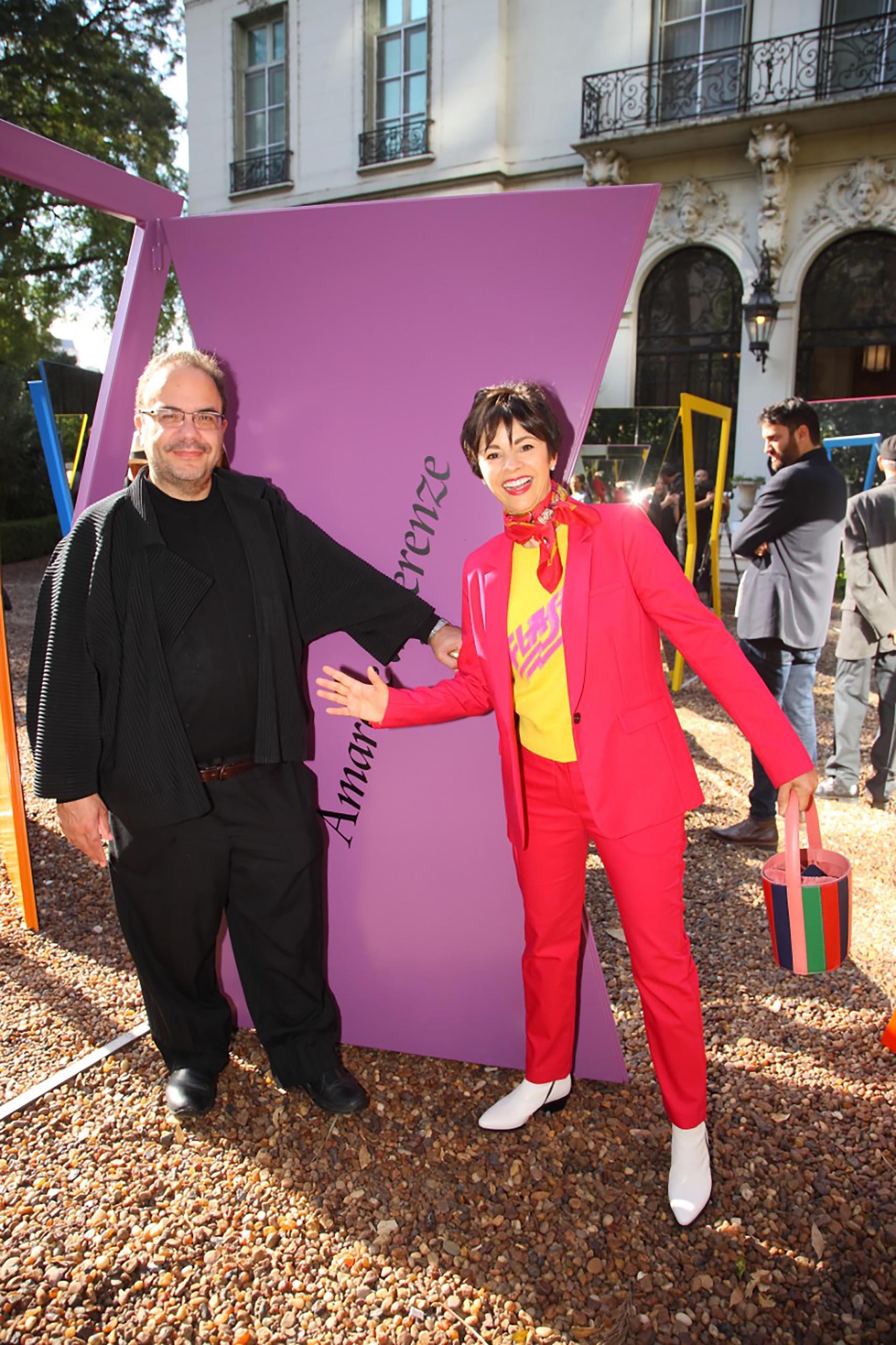 Marcello Dantas y Marlise Ilhesca Jozami