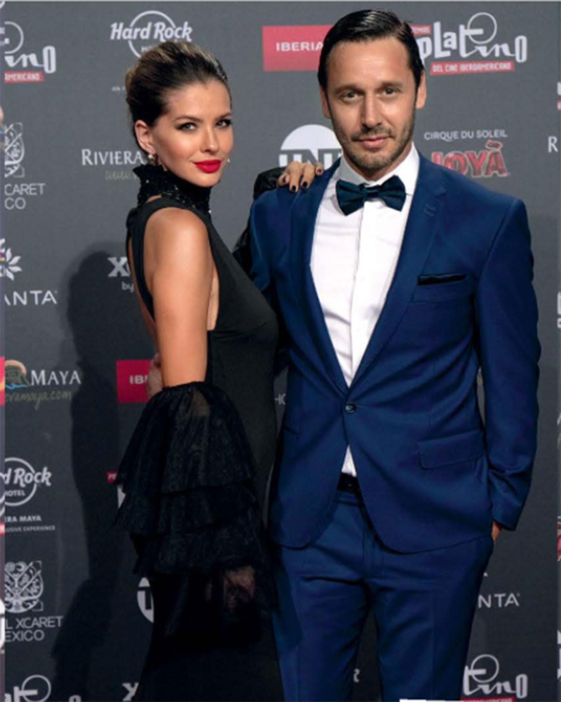"""Mayo 2018: En la quinta edición de los Premios Platino en la Riviera Maya, donde ella presentó la terna de """"Mejor película de animación""""."""