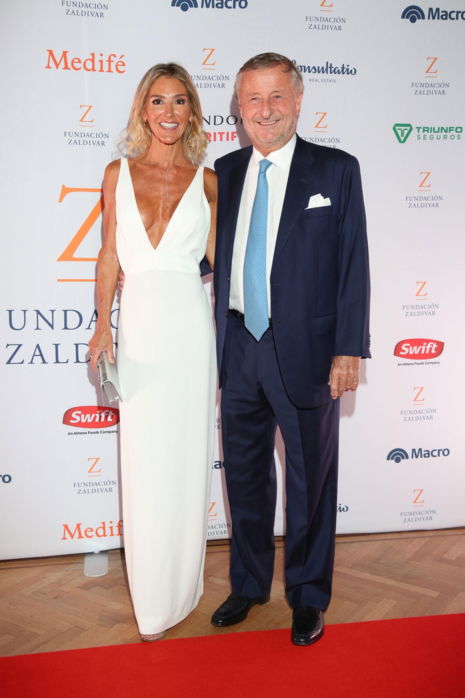 Gabriela Castellani y Cristiano Rattazzi.