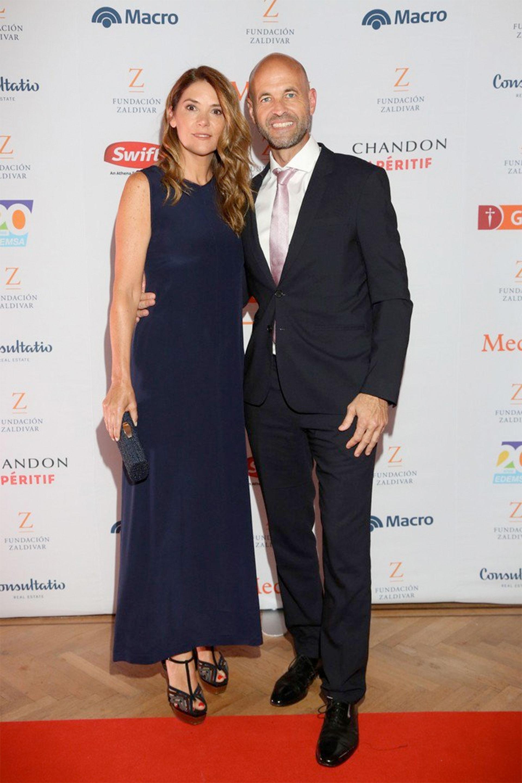 Guillermo Dietrich y su esposa Javiera Álvarez Echagüe.