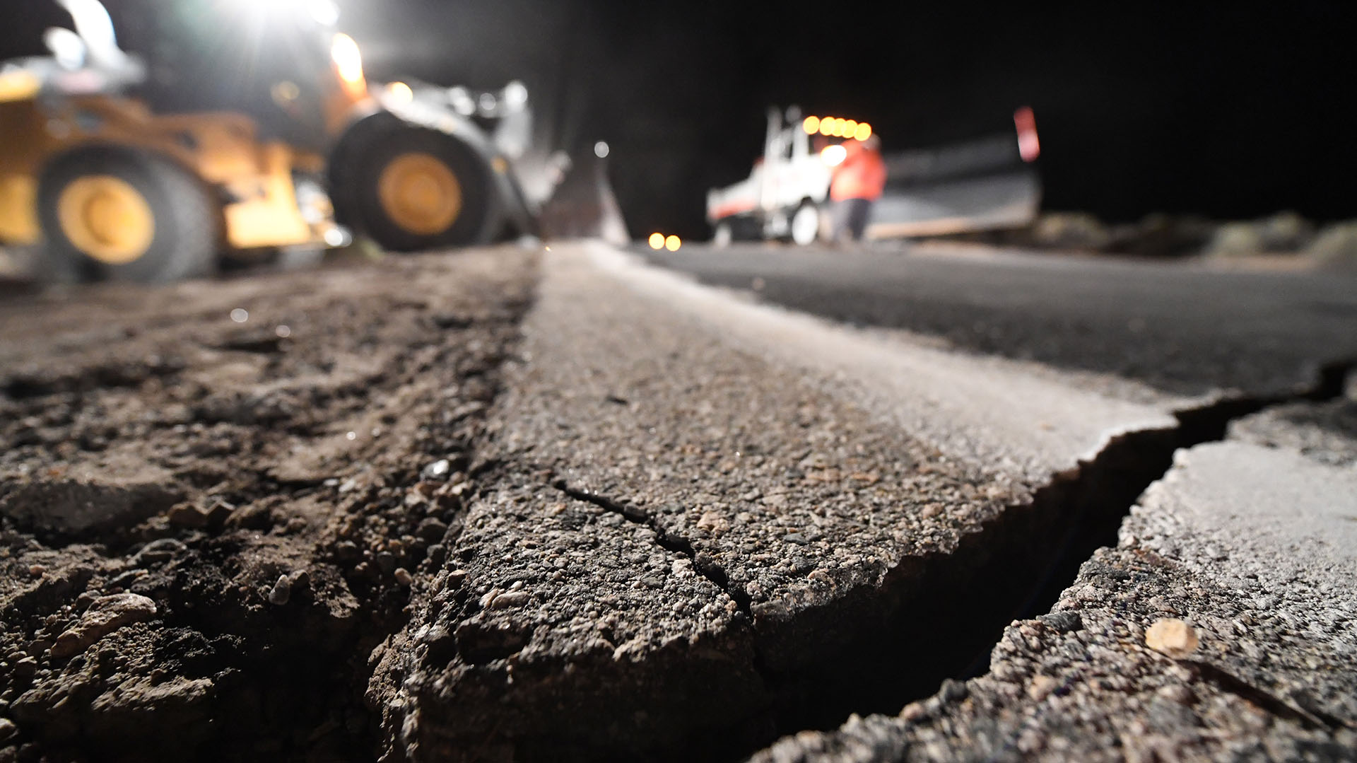 Tanto el sismo de 1999 como los actuales se han registrado en zonas rurales de California con poca población (Photo by Robyn Beck / AFP)