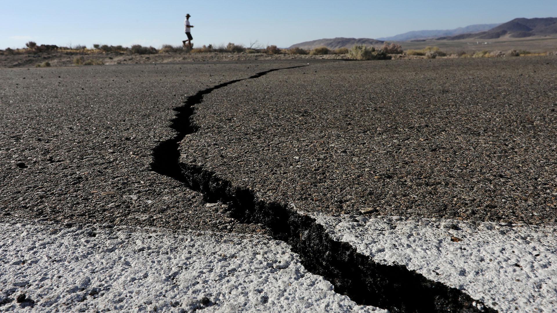 Los sismos fueron fuertes y generaron pánico (REUTERS/David McNew TPX IMAGES OF THE DAY)