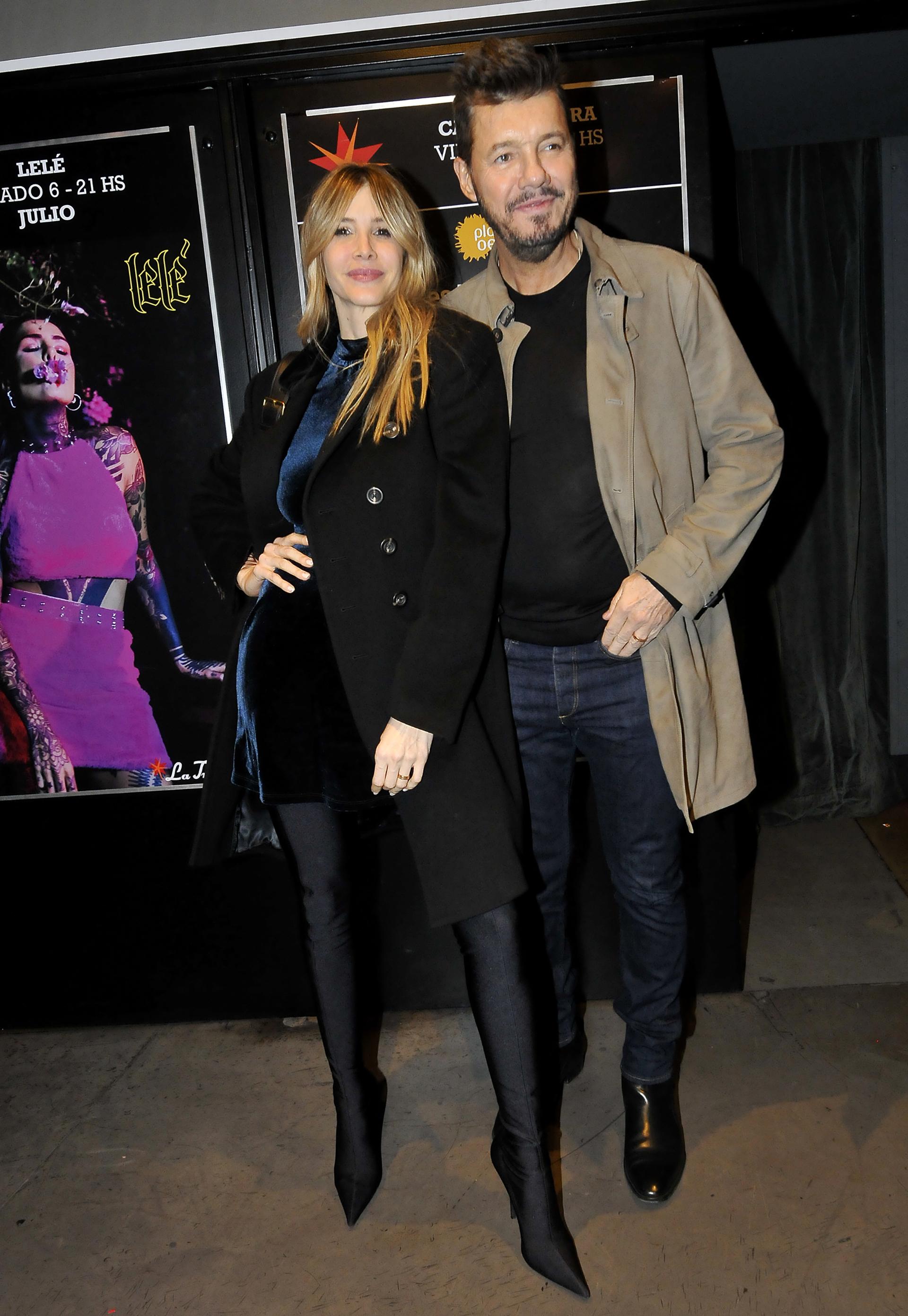 Guillermina Valdes y Marcelo Tinelli
