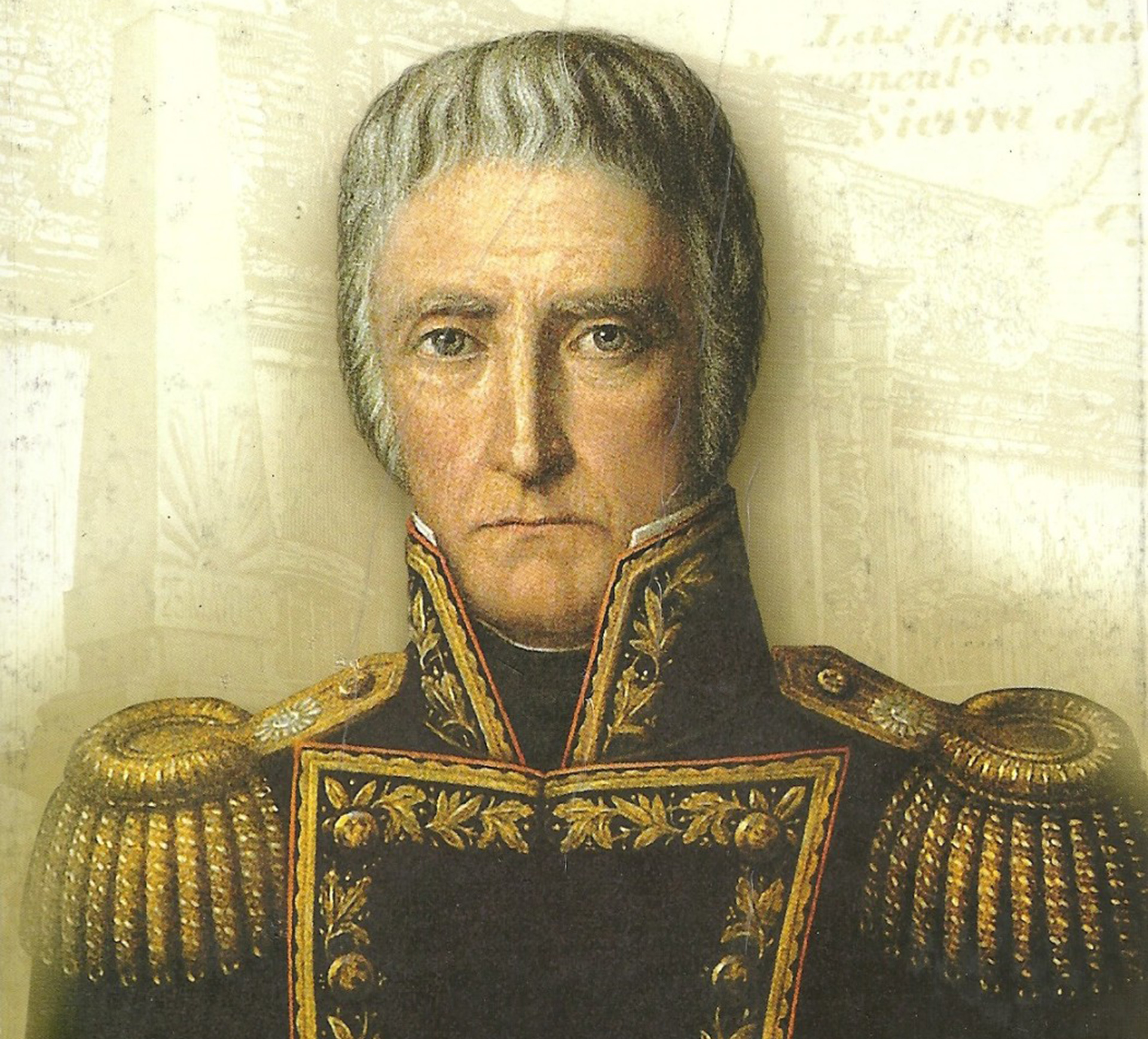 Cornelio Saavedra, un militar influyente con mirada de esfinge política