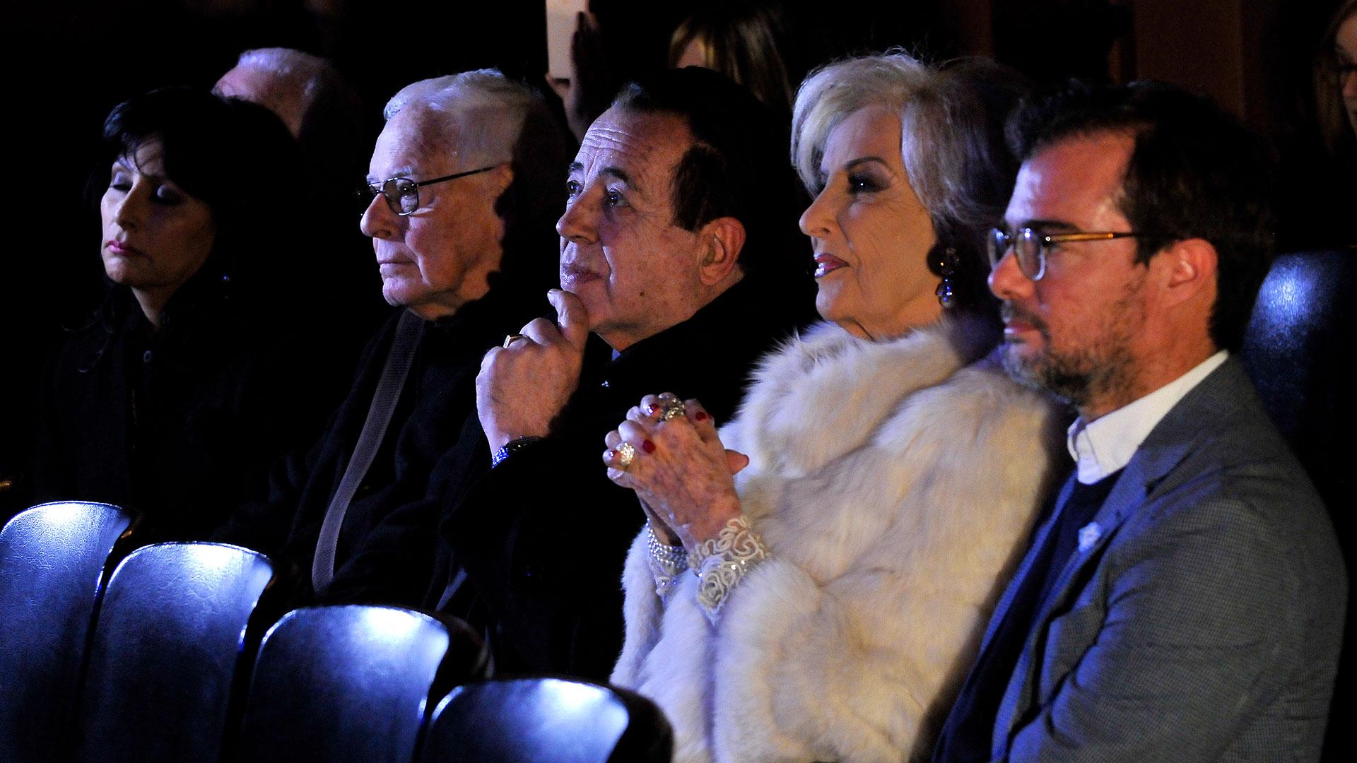 Mirtha Legrand fue distinguida por su carrera en la televisión argentina