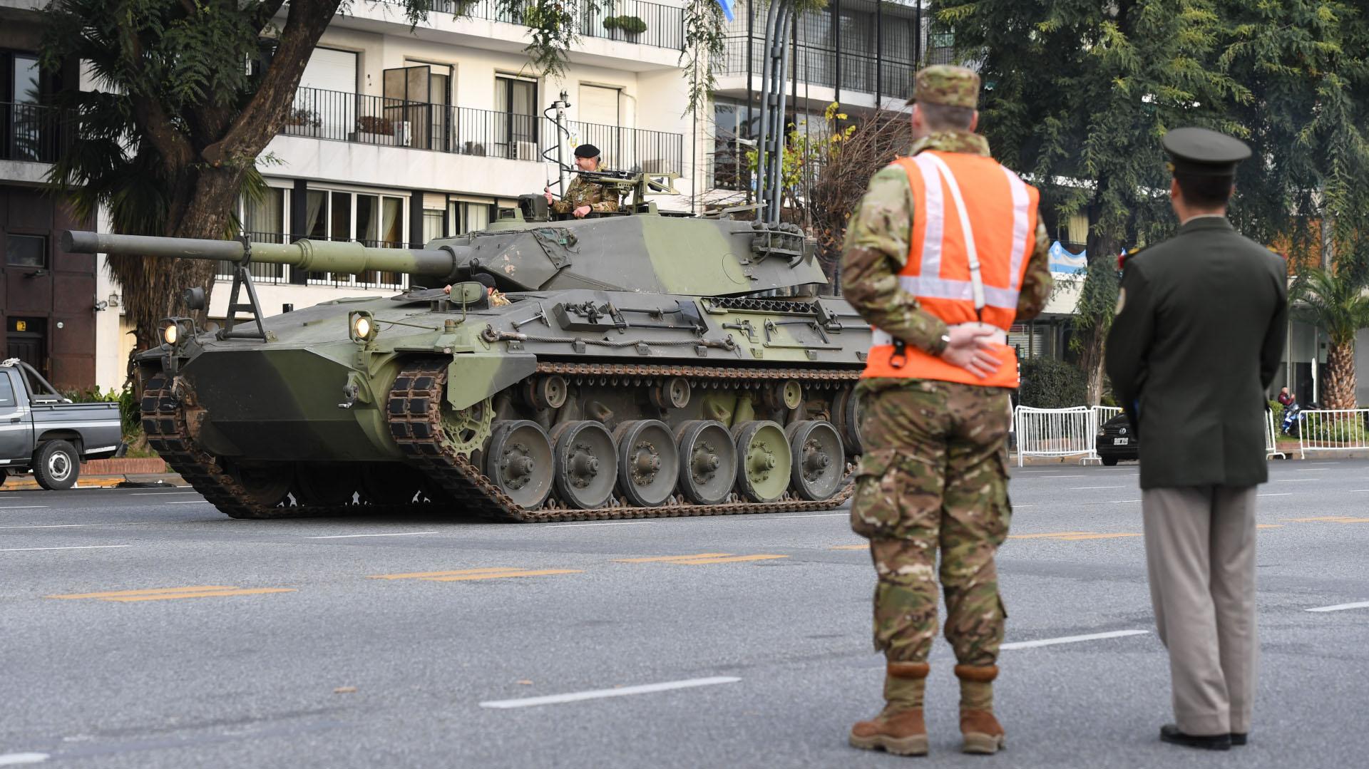 Un Tanque Argentino Mediano