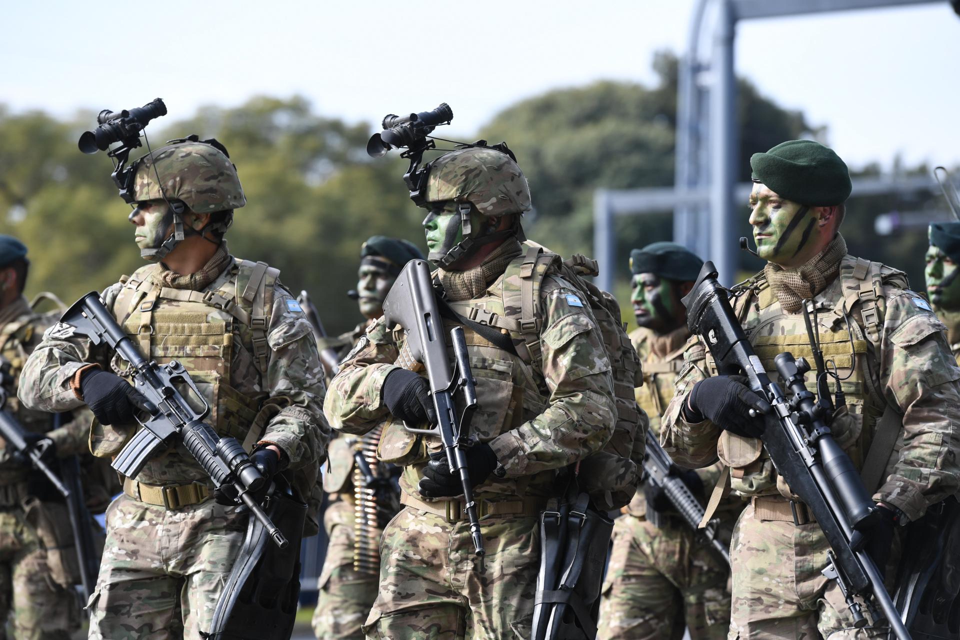 Efectivos de Inteligencia Táctica Adelantada del Ejército