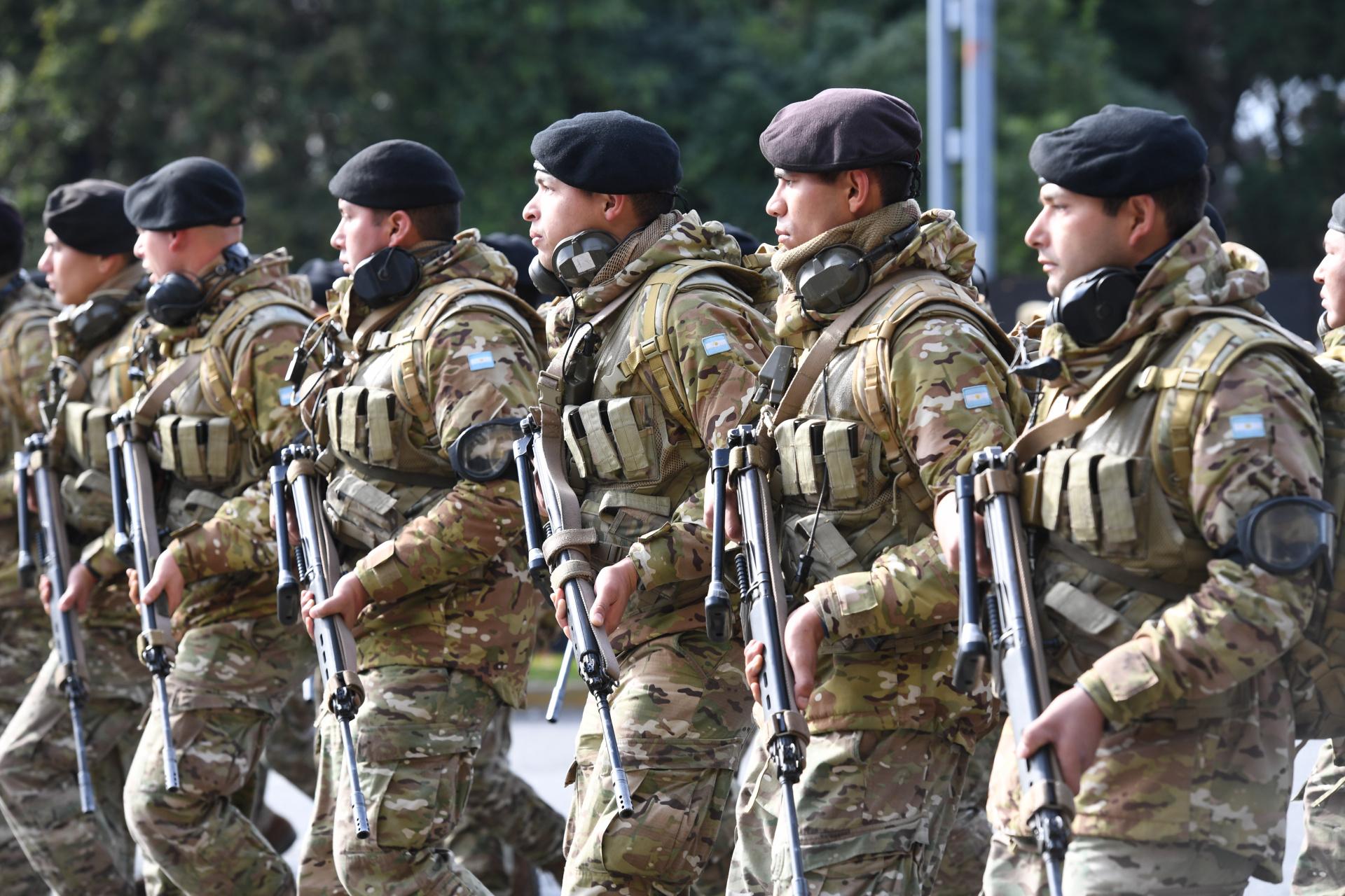 Tropas de Infantería del Ejército Argentino