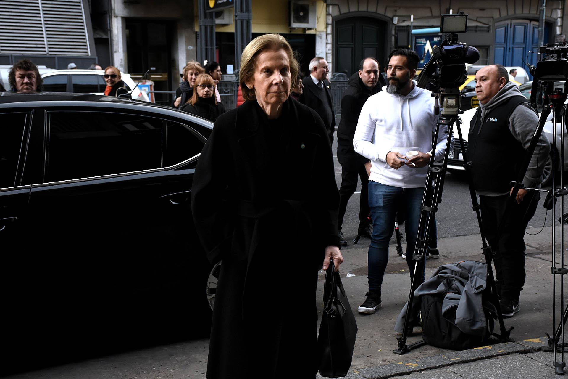 La jueza y candidata del oficialismo para la Procuración Inés Weinberg de Roca