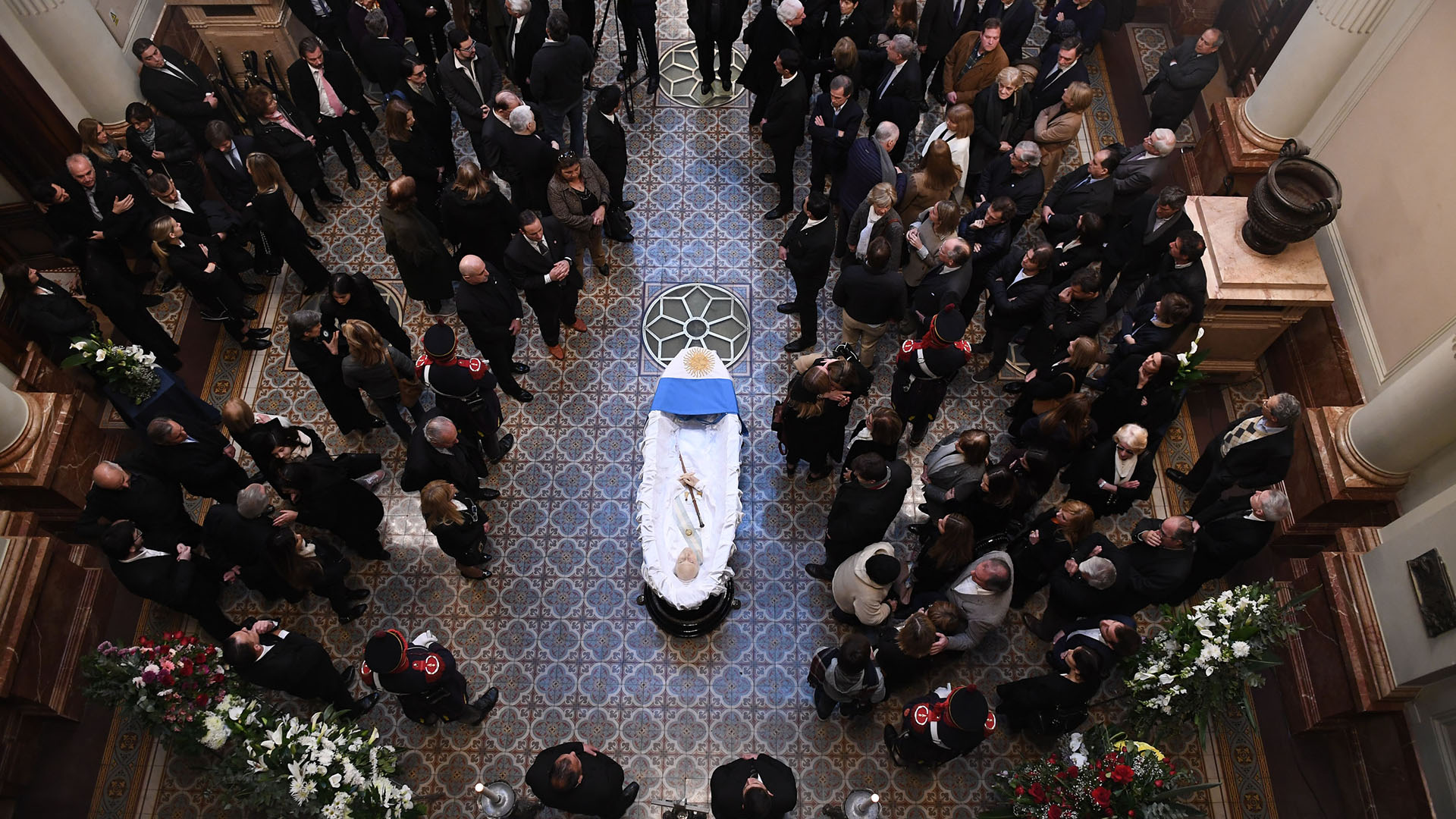 De la Rúa murió este martes después de estar varios meses internado