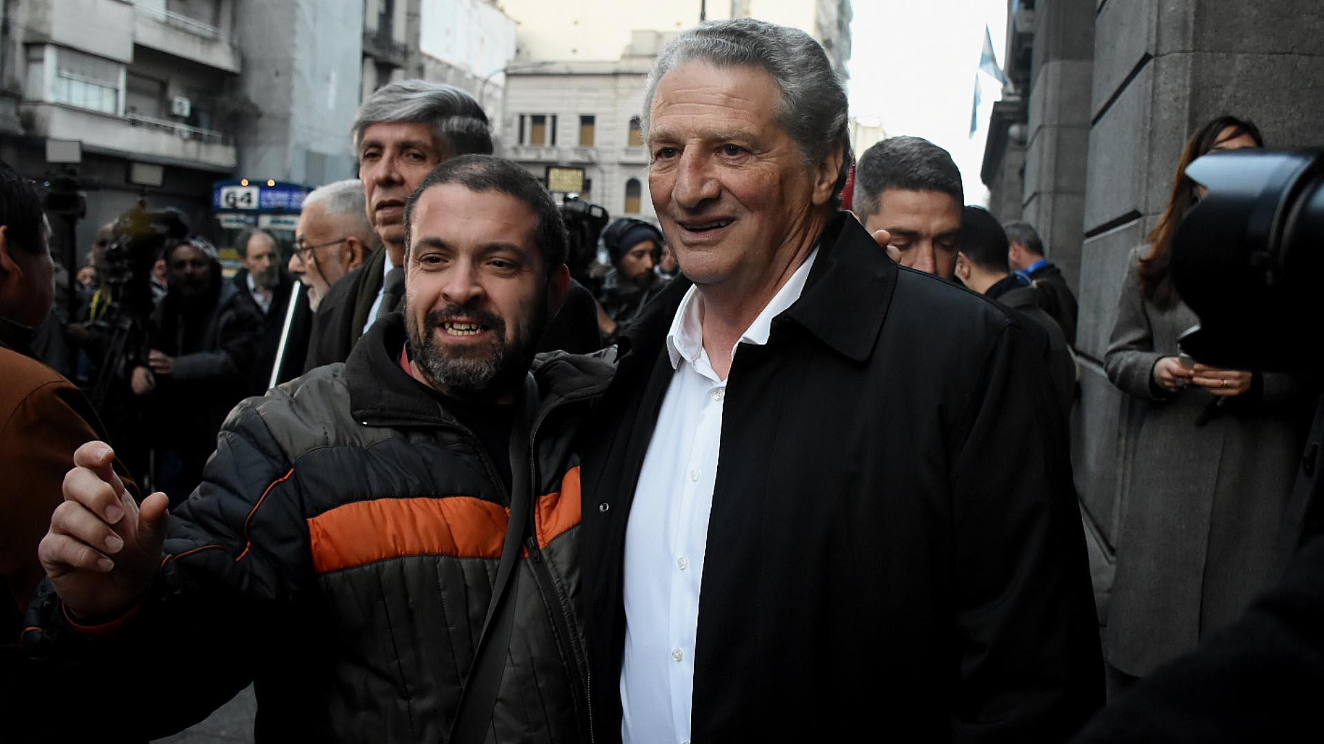 El dirigente radical Horacio Massaccesi