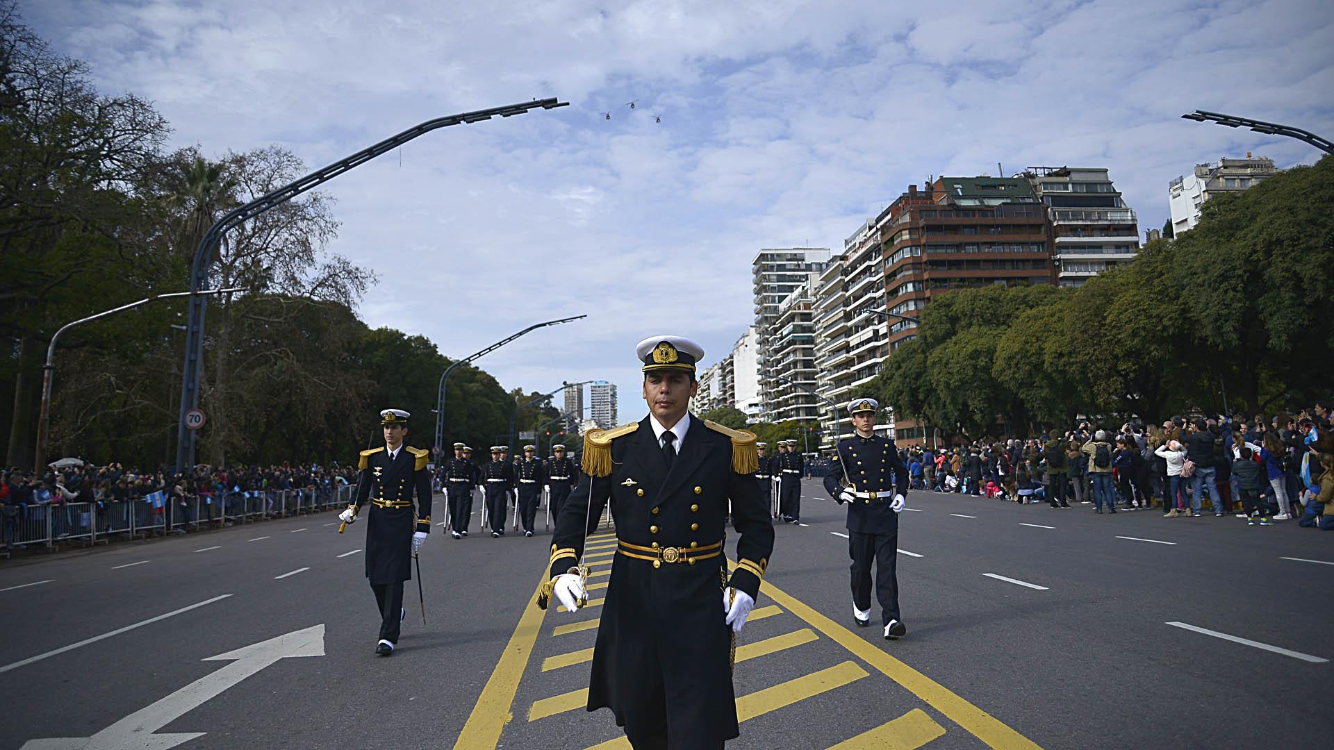 Efectivos de la Armada Argentina