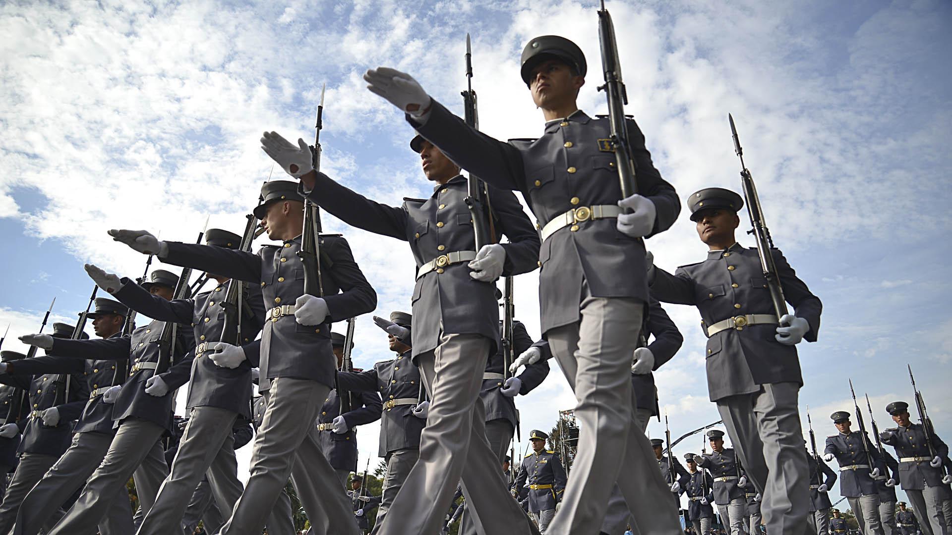 Soldados del Liceo Militar General San Martín