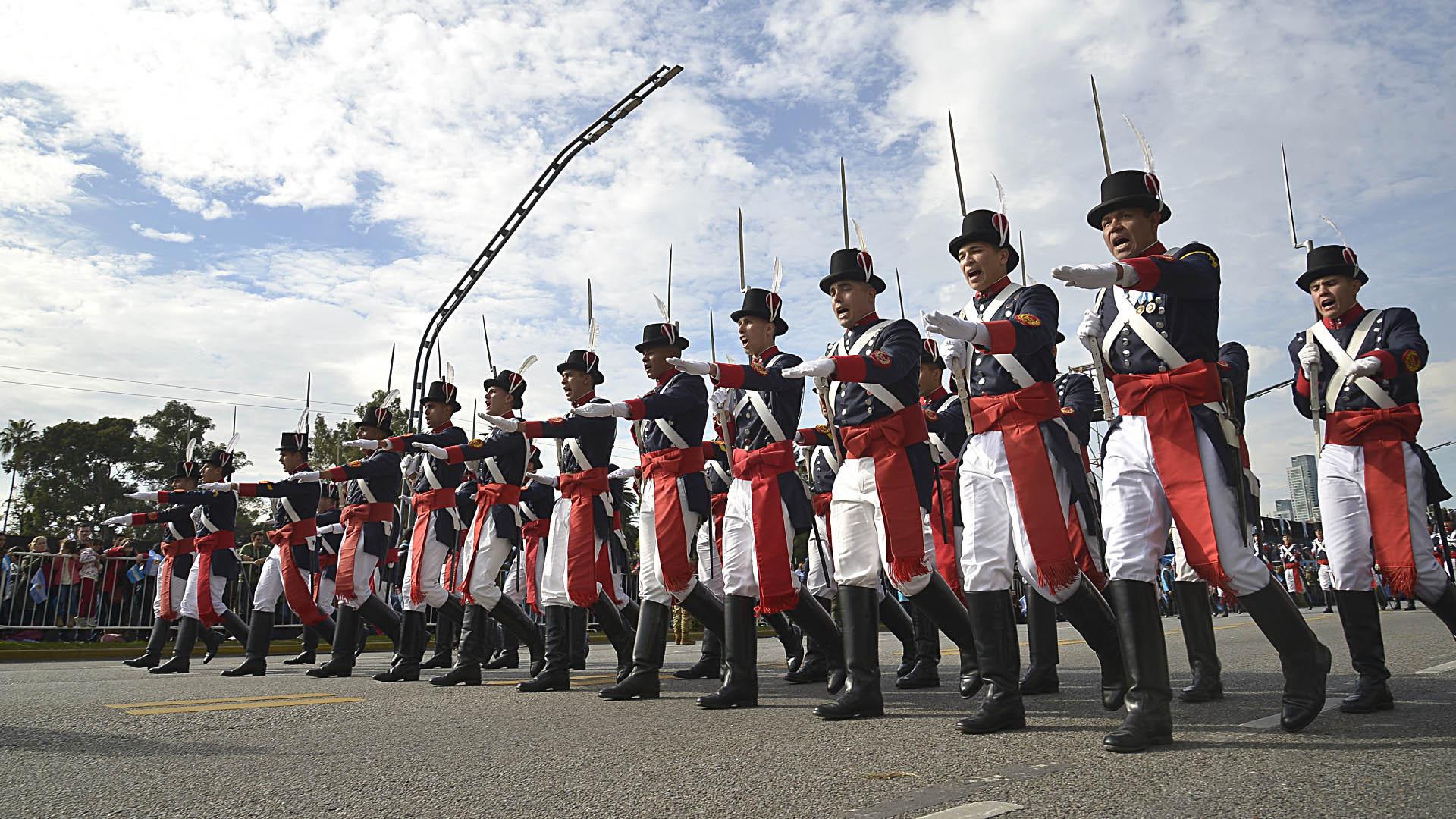El regimiento de Infanteria 1 Patricios
