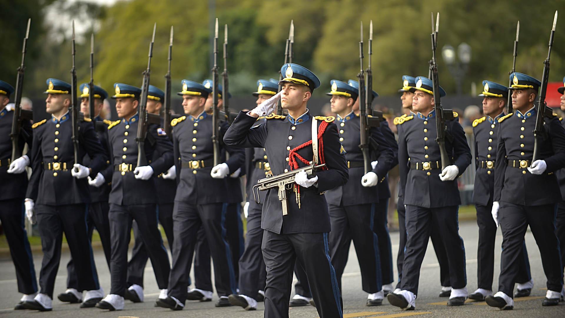 Cadetes de la Policía Federal Argentina