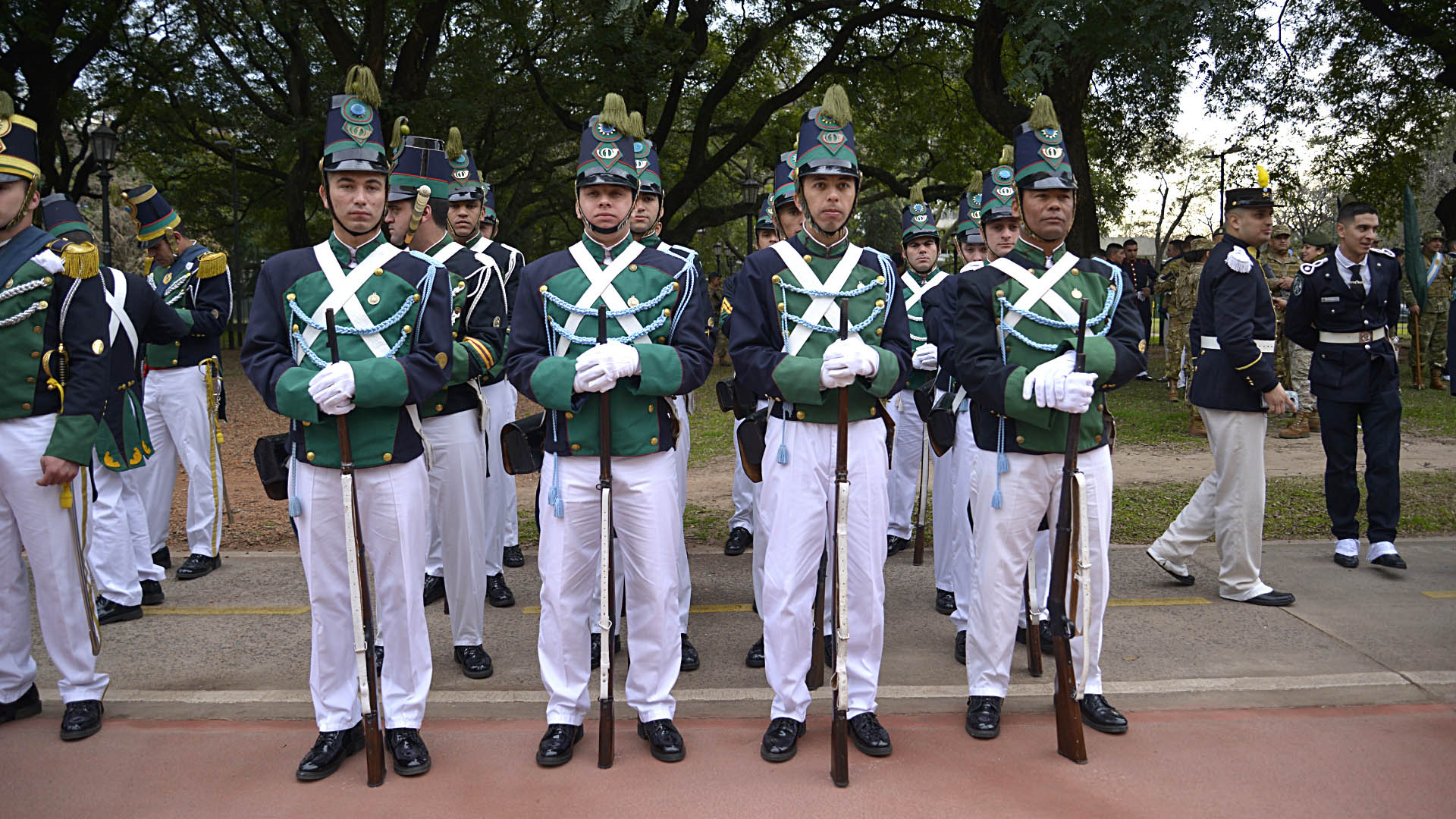 """El Batallón """"Florida"""" de Infantería N° 1 de Uruguay"""