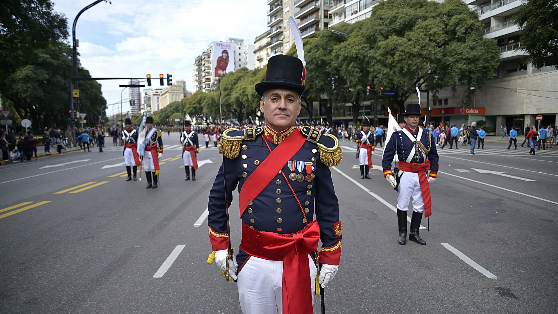 Soldados del Regimiento de Infanteria 1 Patricios