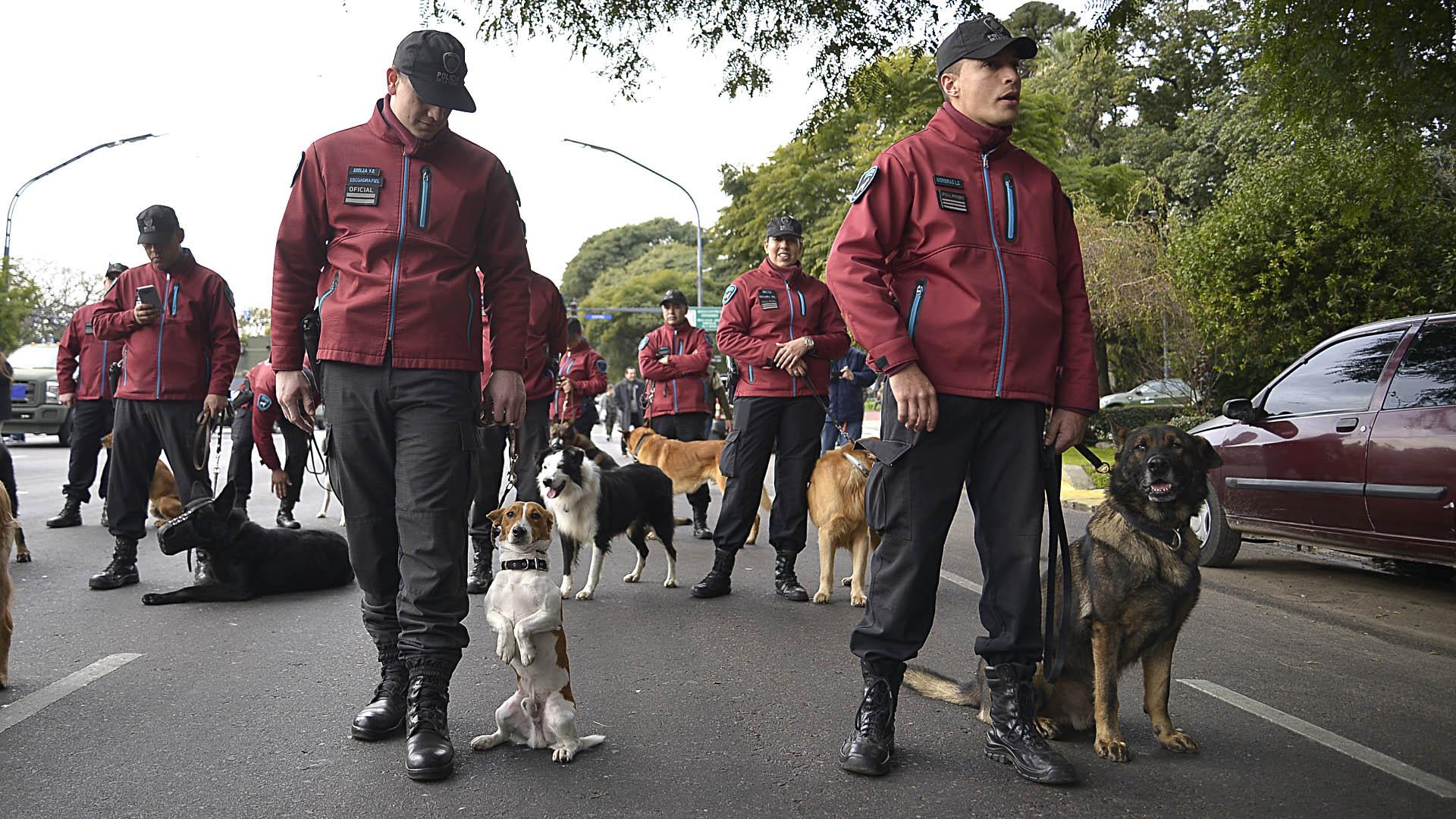 Efectivos de la Policía de la ciudad de Buenos Aires