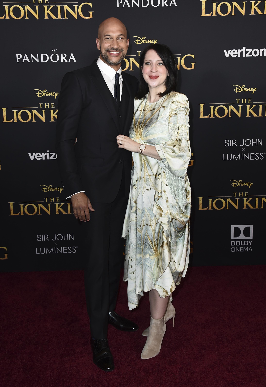 Keegan-Michael Key y Elisa Pugliese (Foto de Jordan Strauss/ Invision/ AP)
