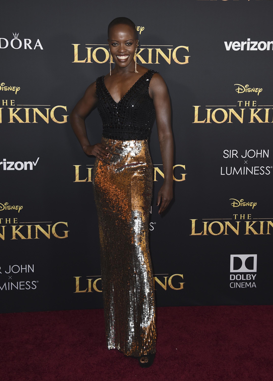 Florence Kasumba (Foto de Jordan Strauss/ Invision/ AP)