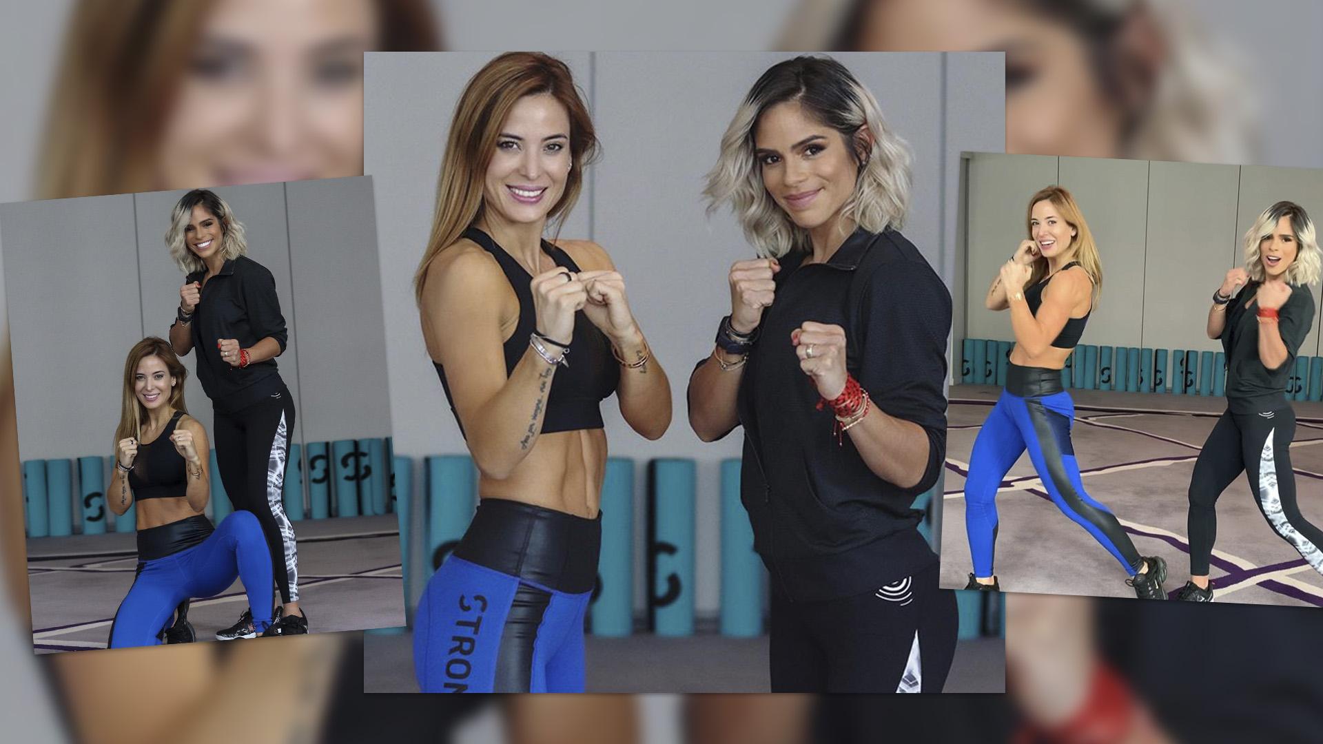 Jésica Cirio Tomó Clases De Strong By Zumba Con Michelle