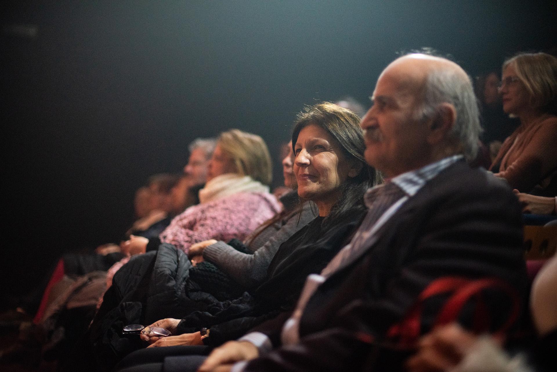 Alicia Daher y Ghandour Daher directivos de la Fundación Nínawa Daher y padres de la cantante