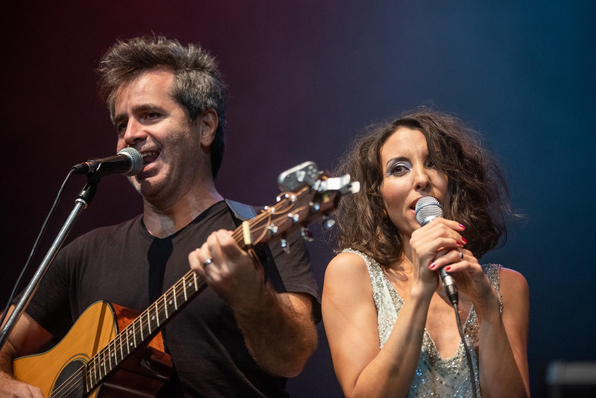 Sumaia y Pablo Tiscornia