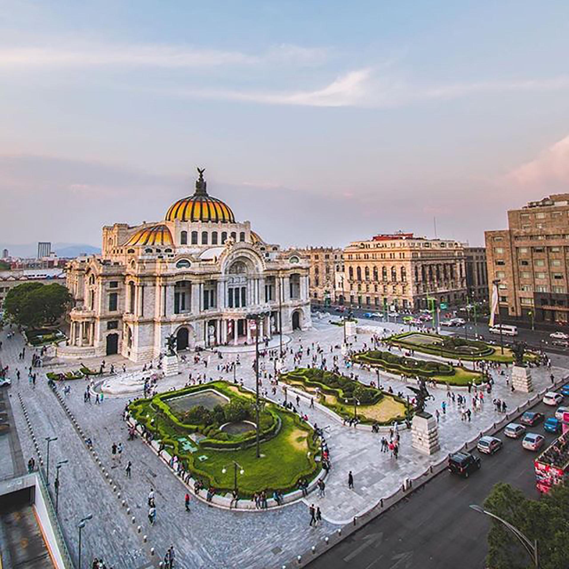 La capital del país está en la lista de lugares en México para solteros.