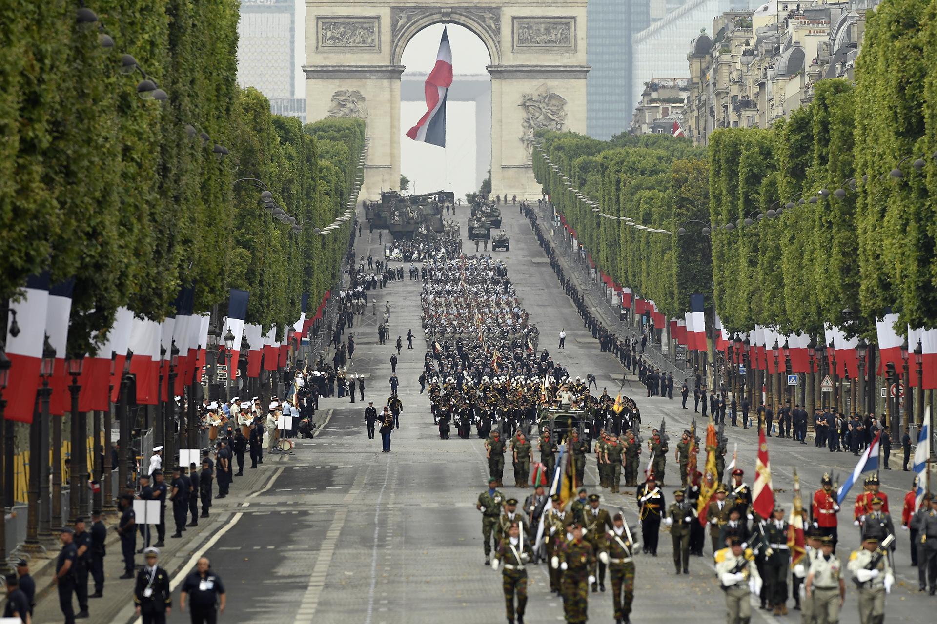 El Día de la Bastilla es la fiesta nacional de Francia