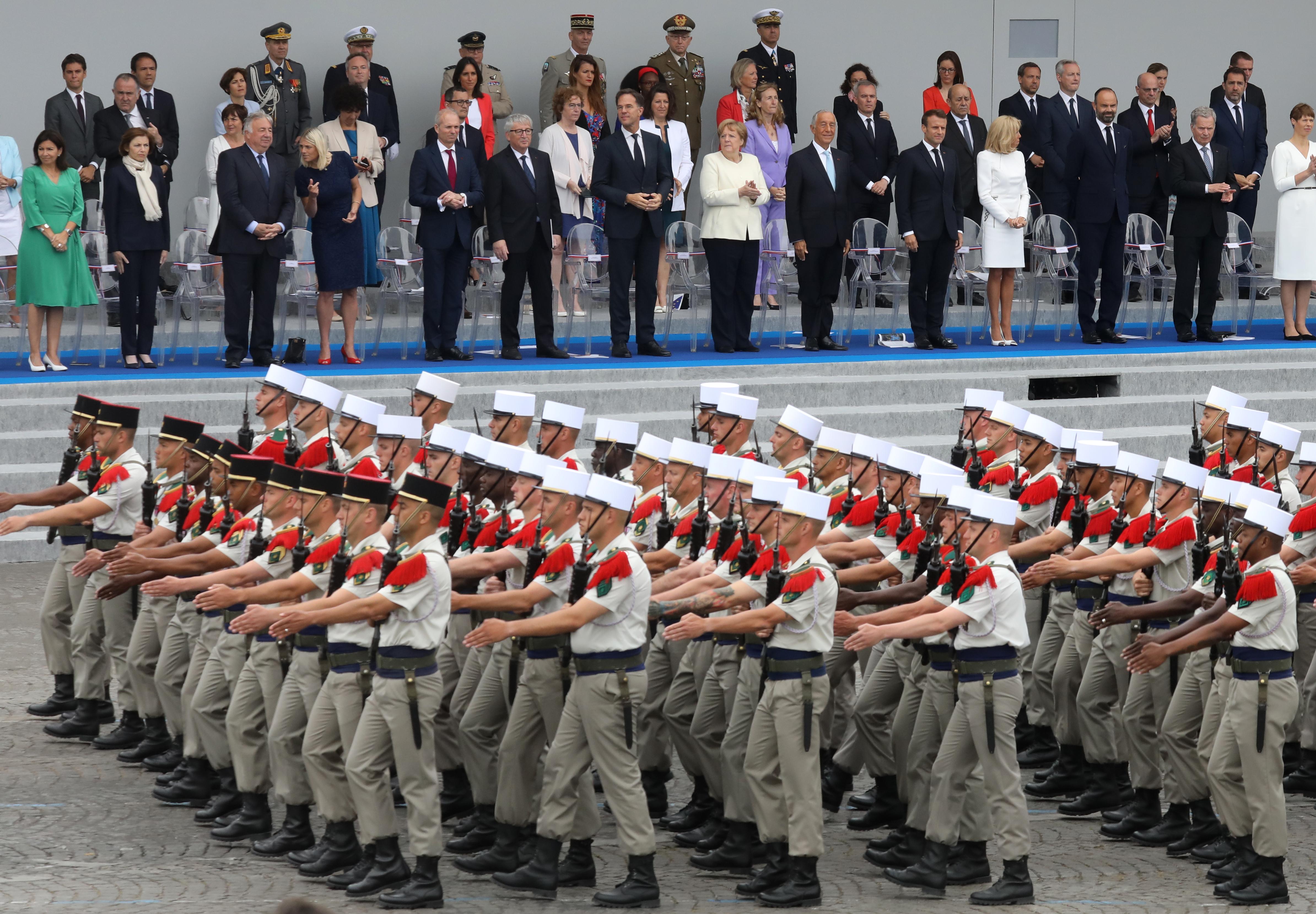 Miembros de la icónica Legión Extranjera francesa