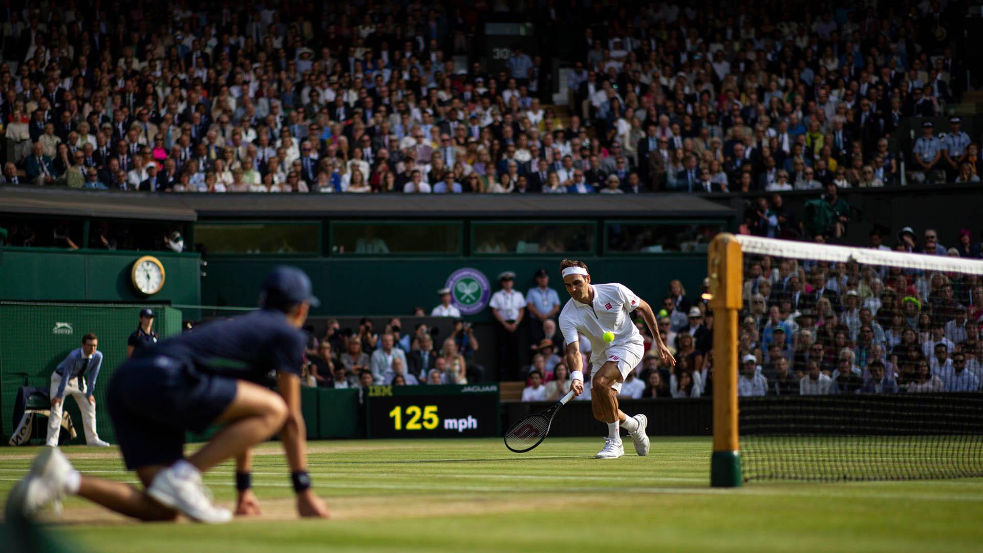 El público alentó durante todo el partido al nacido en Basilea (Shutterstock)