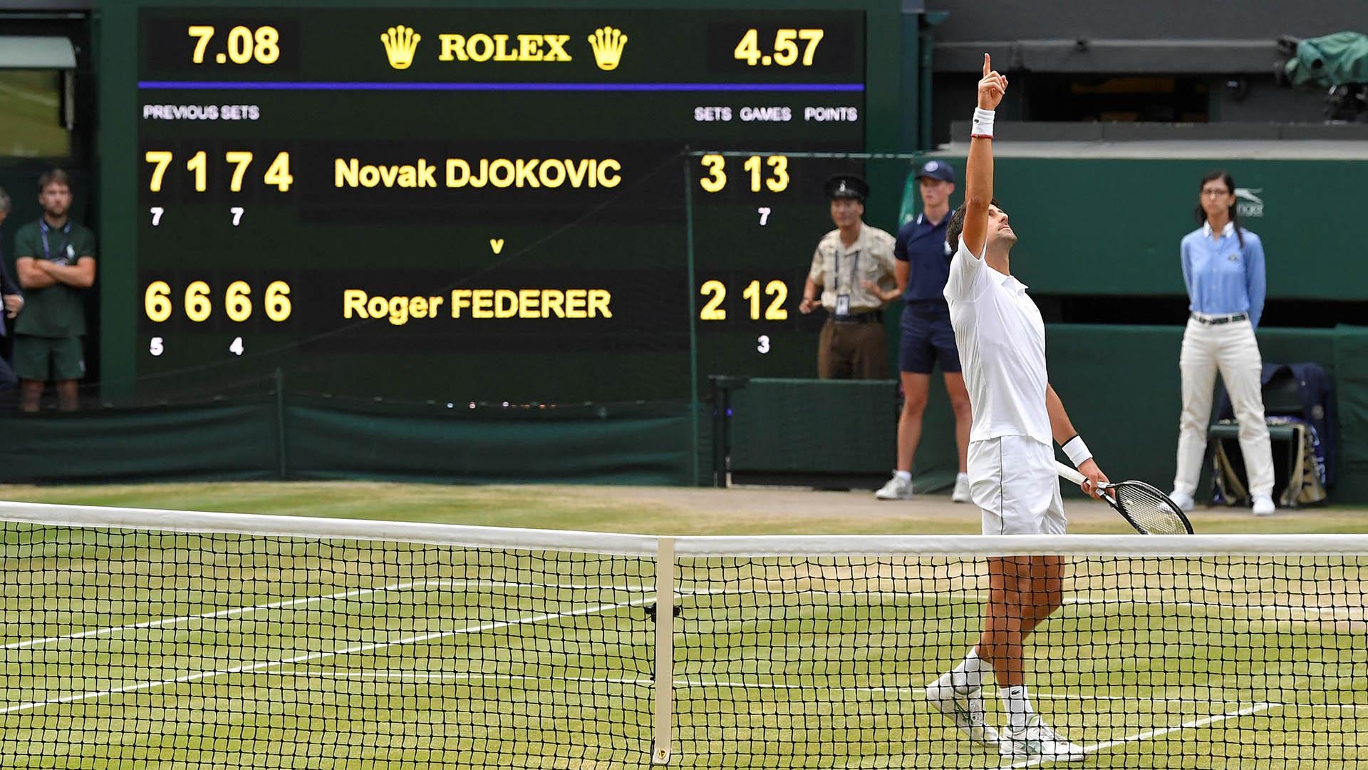 Djokovic conquistó su quinto título en Wimbledon (REUTERS)