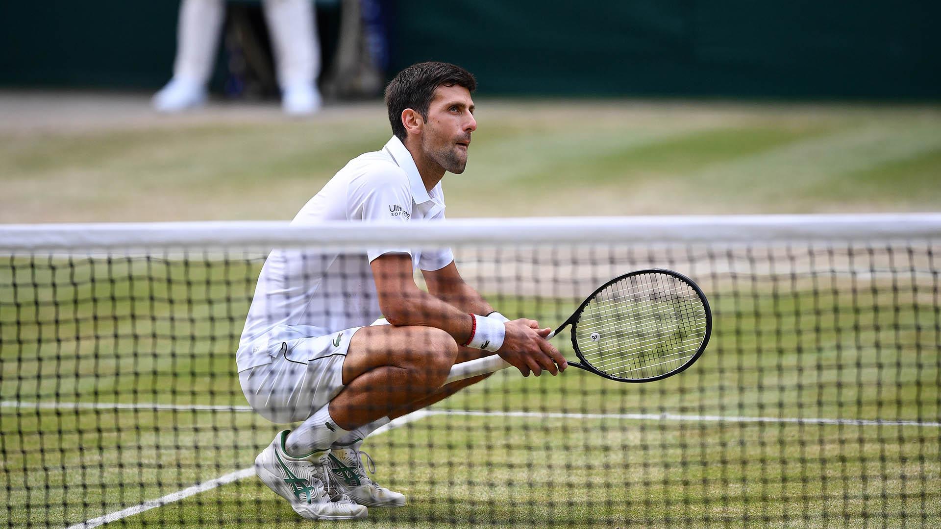 Nopvak Djokovic se consagró campeón de la edición 2019 de Wimbledon (AFP)
