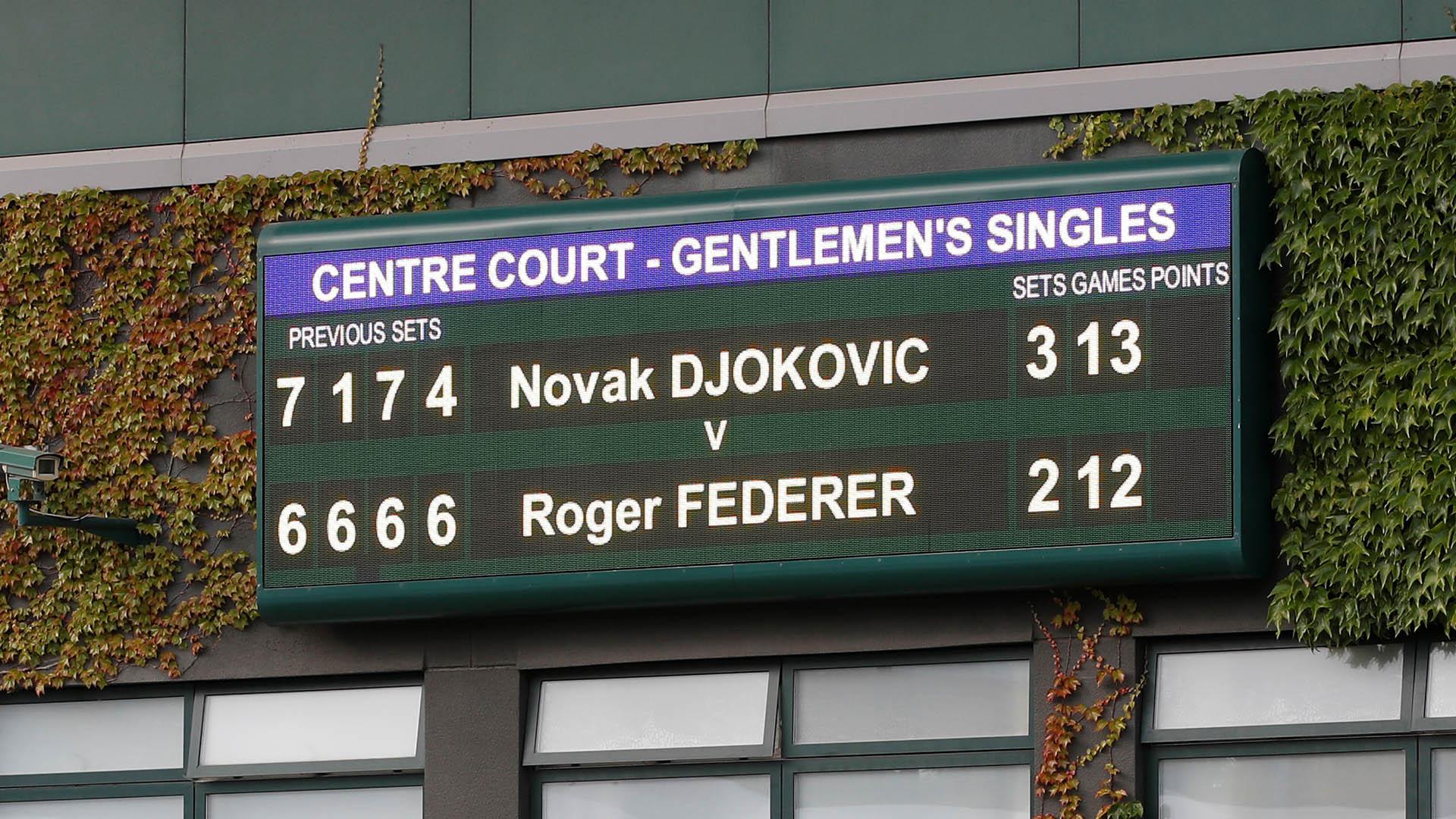Fue la final más larga de la historia de Wimbledon: duró 4 horas y 57 minutos (REUTERS)