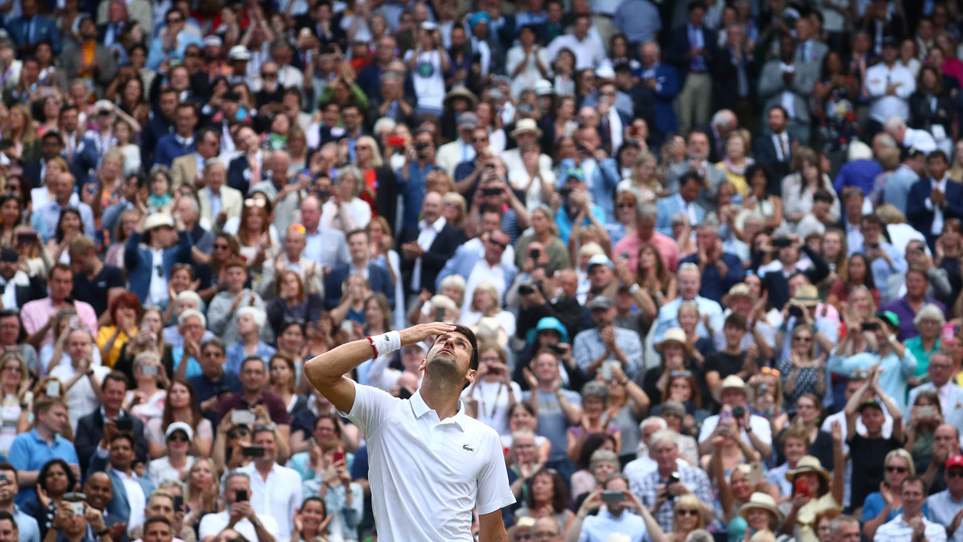 Este es el 16° Grand Slam en la carrera de Nole (REUTERS)