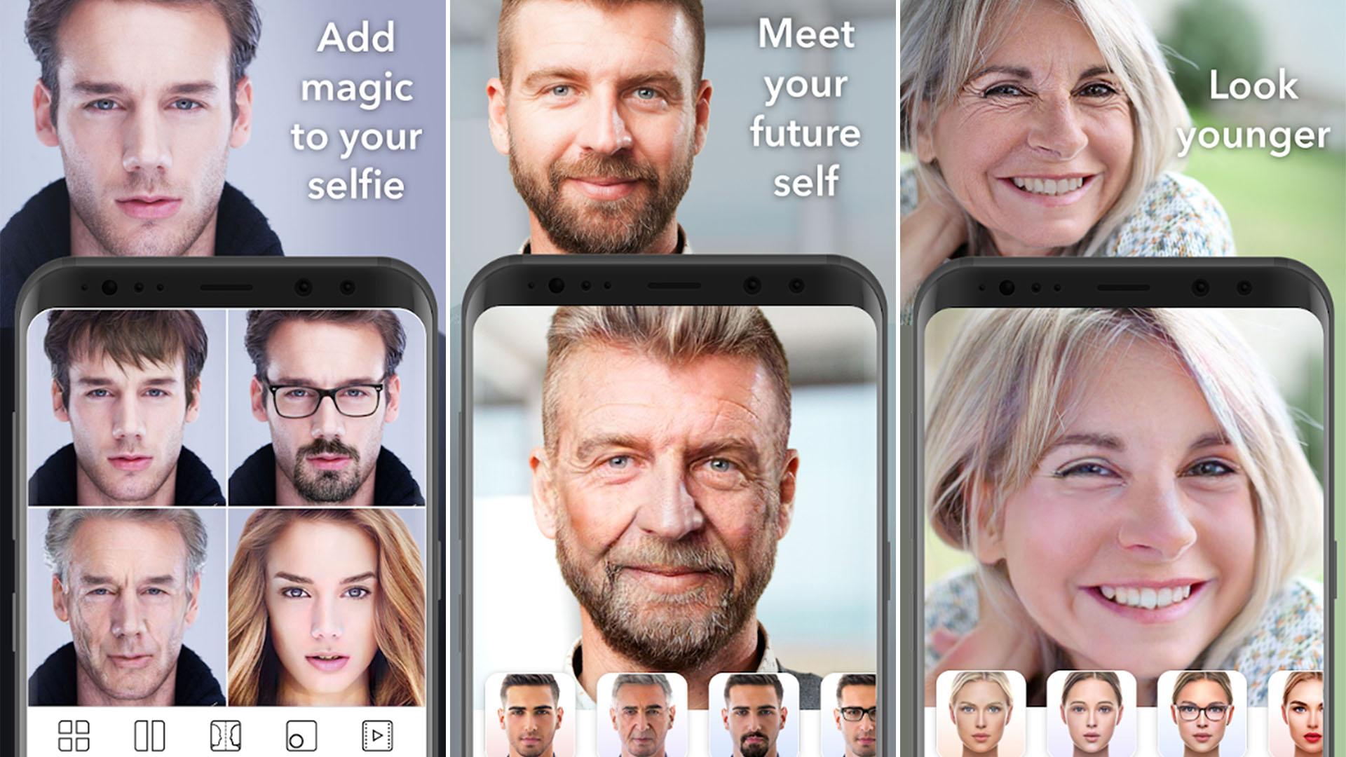 Cómo funciona FaceApp, la app que te envejece en segundos - Infobae
